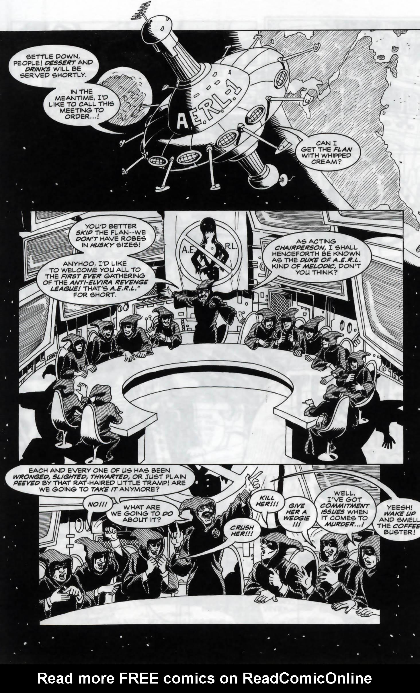 Read online Elvira, Mistress of the Dark comic -  Issue #120 - 3