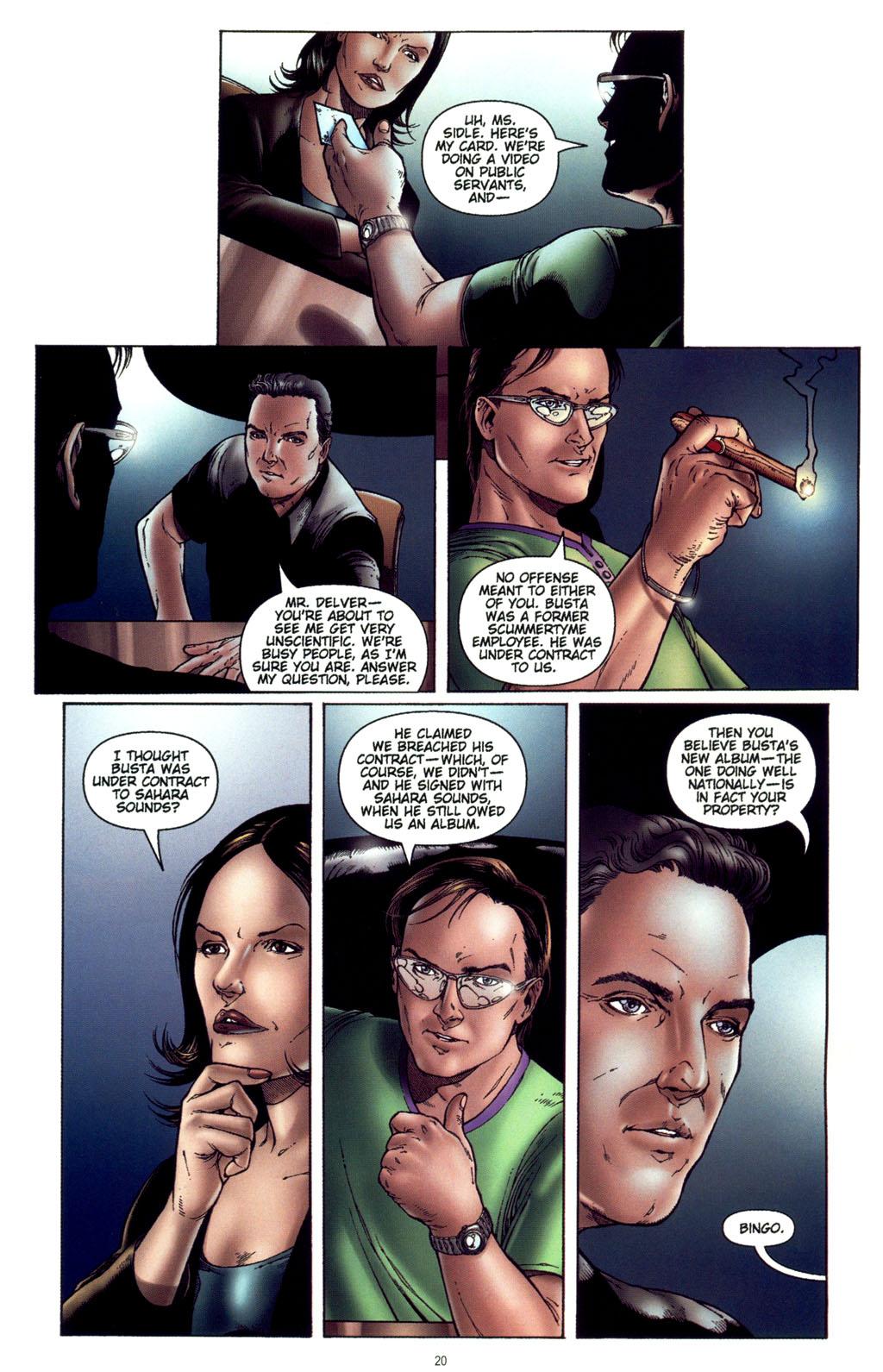 Read online CSI: Crime Scene Investigation: Bad Rap comic -  Issue #4 - 21