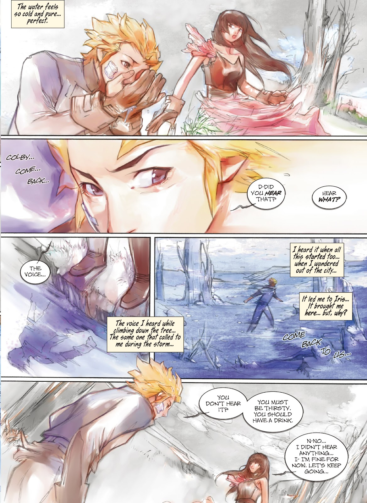 Read online Makeshift Miracle: The Girl From Nowhere comic -  Issue #10 - 7