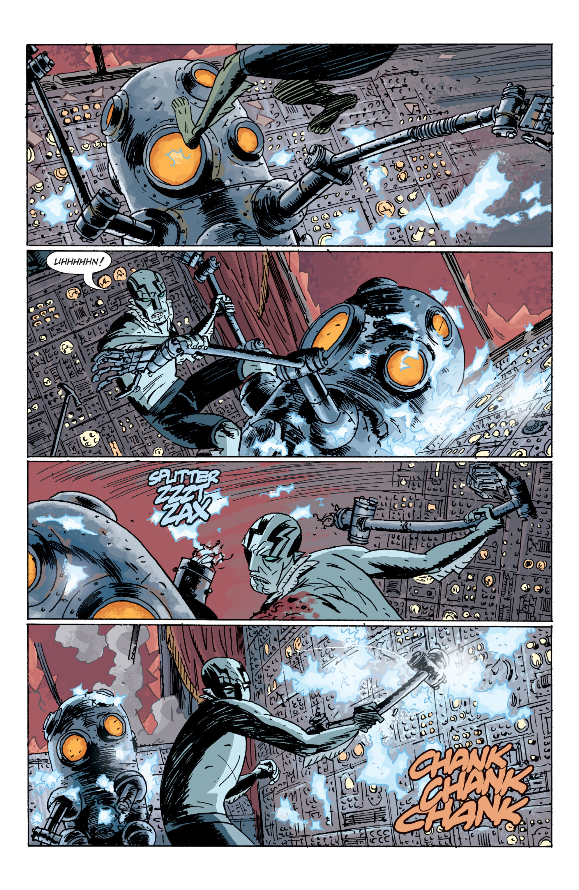 Read online B.P.R.D. (2003) comic -  Issue # TPB 7 - 120