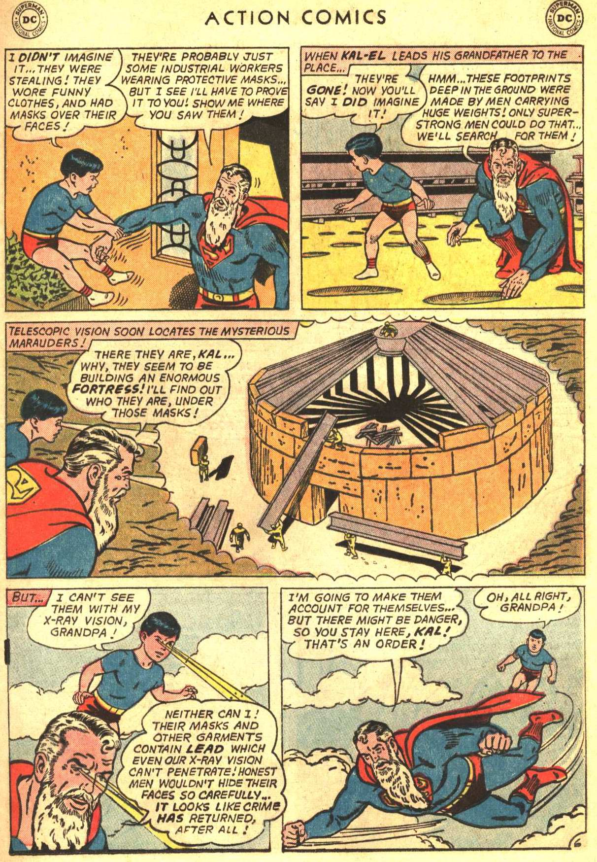 Read online Action Comics (1938) comic -  Issue #327 - 9