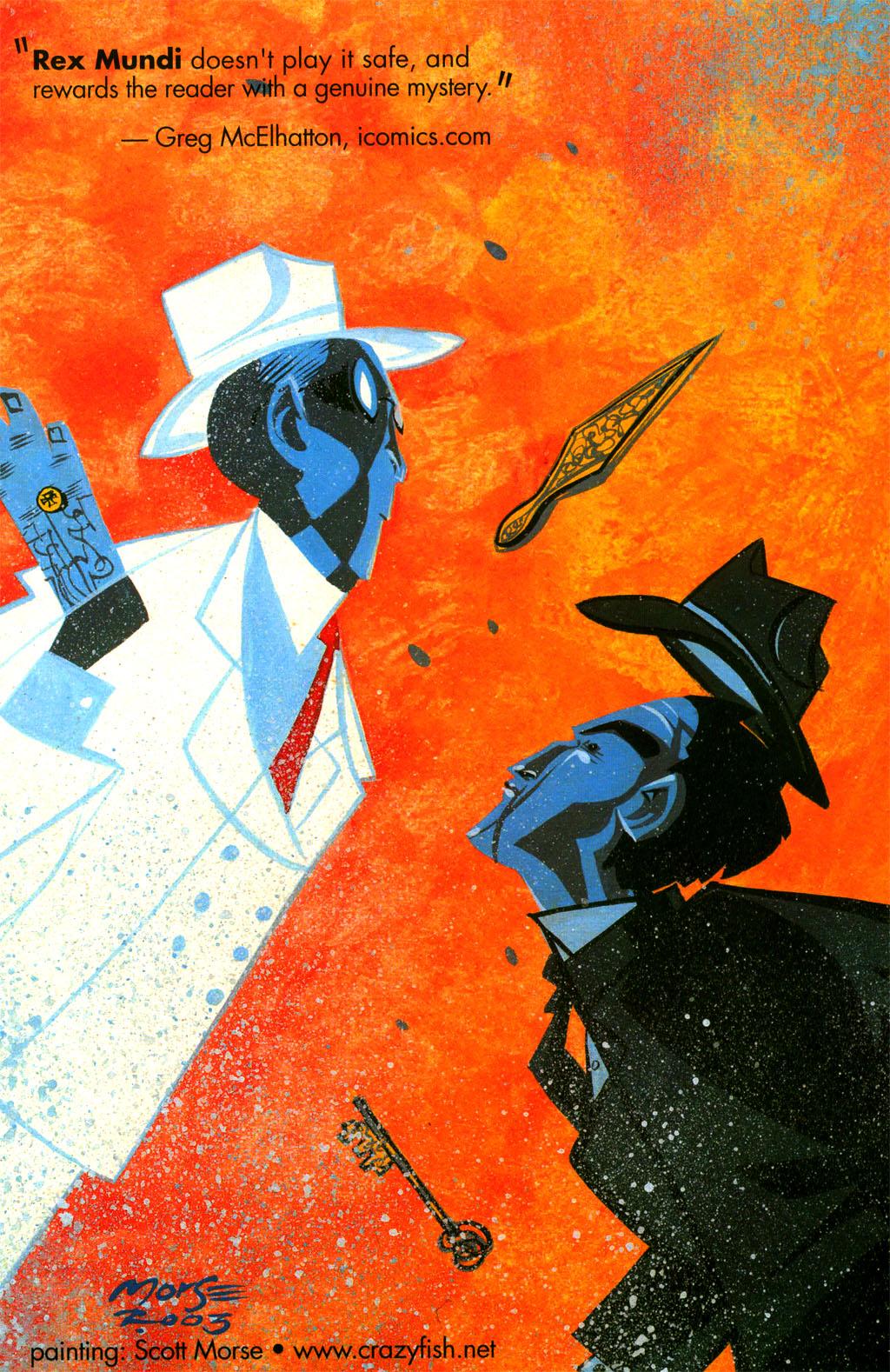 Read online Rex Mundi comic -  Issue #5 - 32