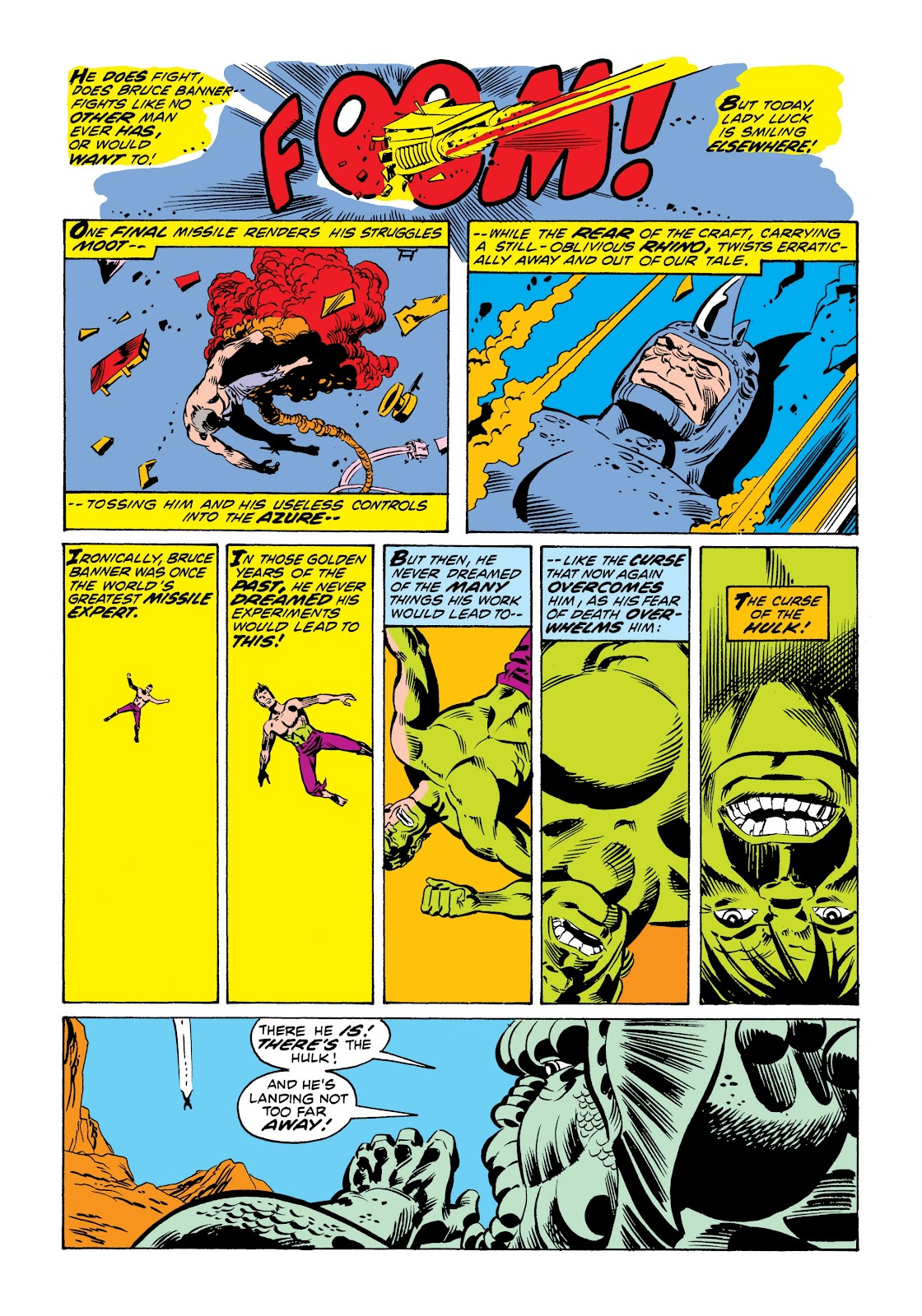 Read online Marvel Masterworks: The Incredible Hulk comic -  Issue # TPB 9 (Part 1) - 58