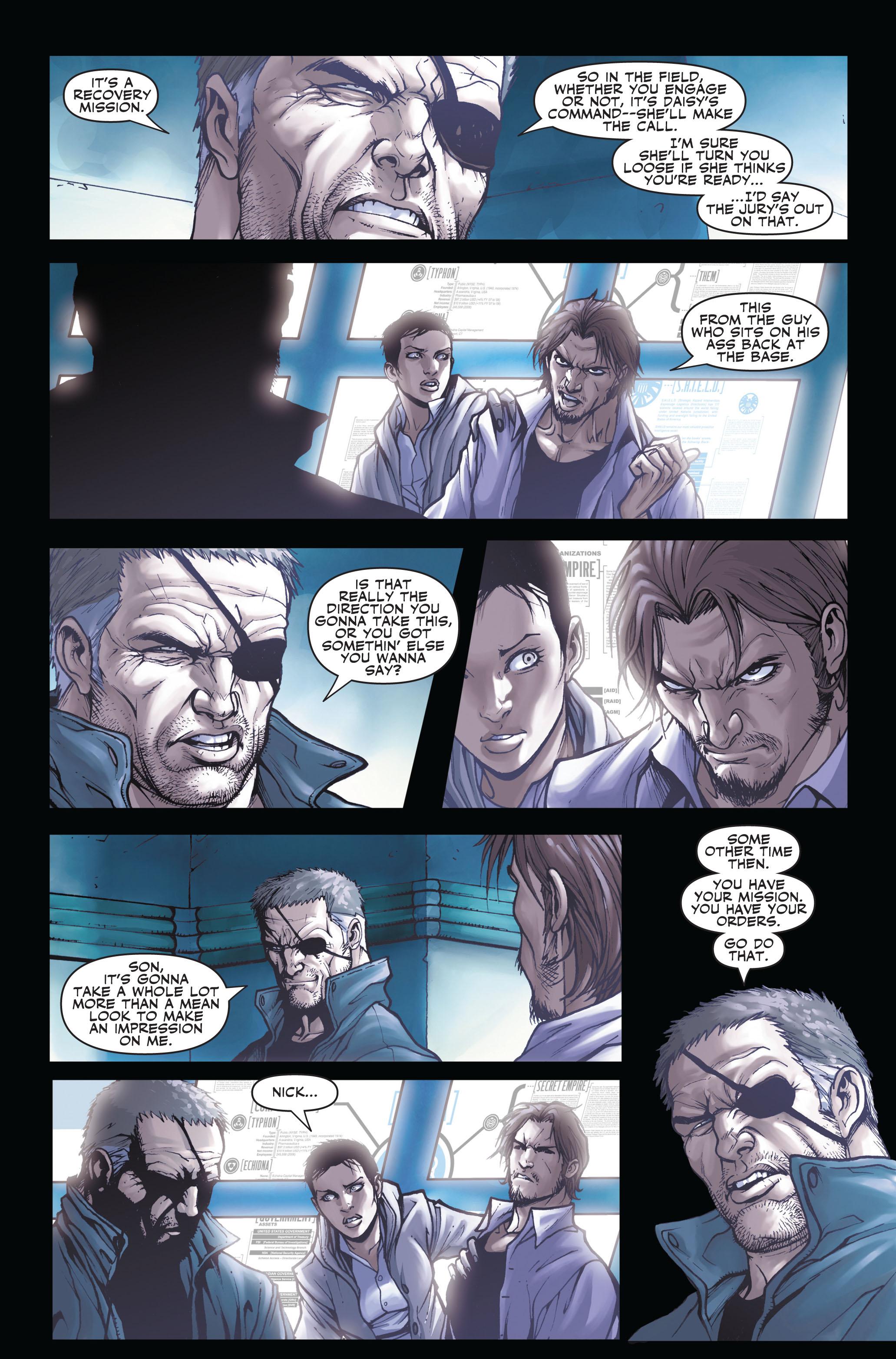 Read online Secret Warriors comic -  Issue #3 - 8