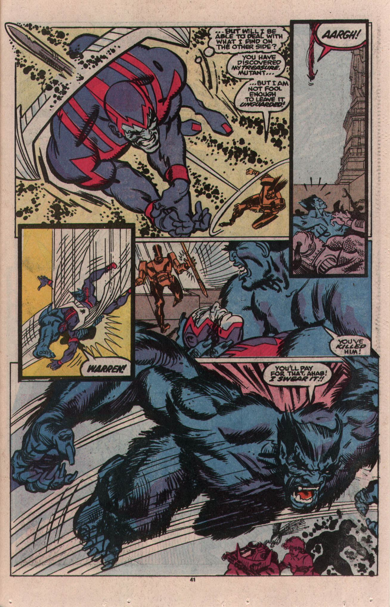 Read online X-Factor (1986) comic -  Issue # _ Annual 5 - 36