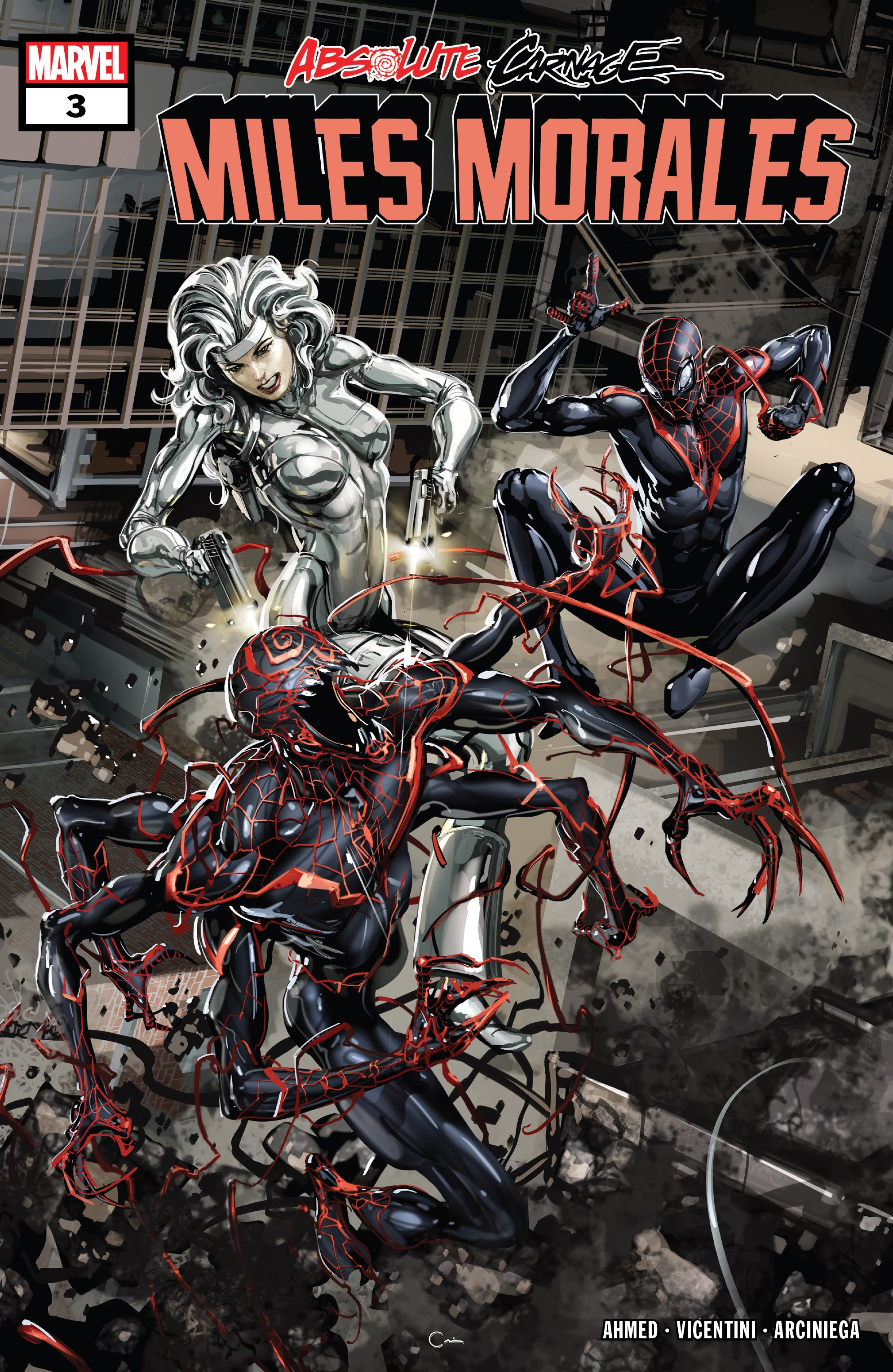 Absolute Carnage: Miles Morales issue 3 - Page 1