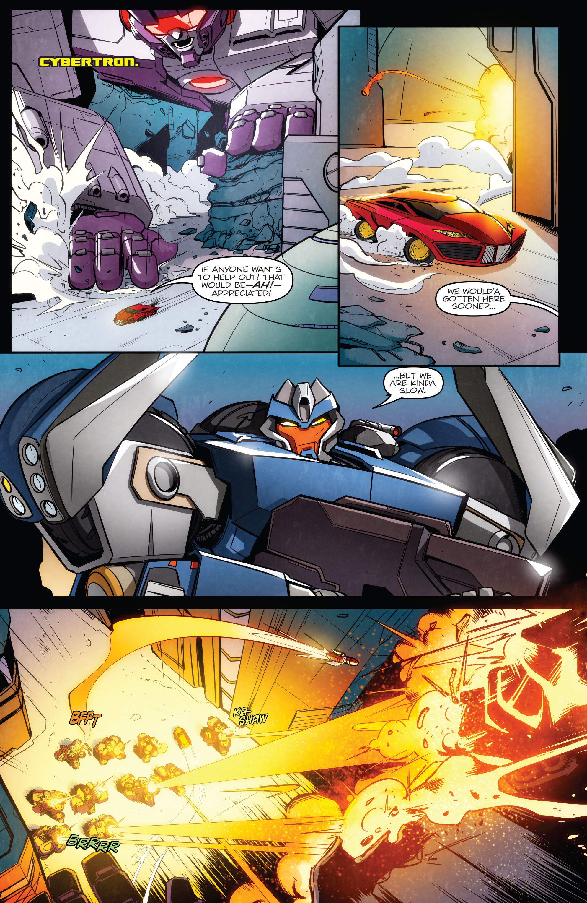 Read online Transformers: Till All Are One comic -  Issue #5 - 20
