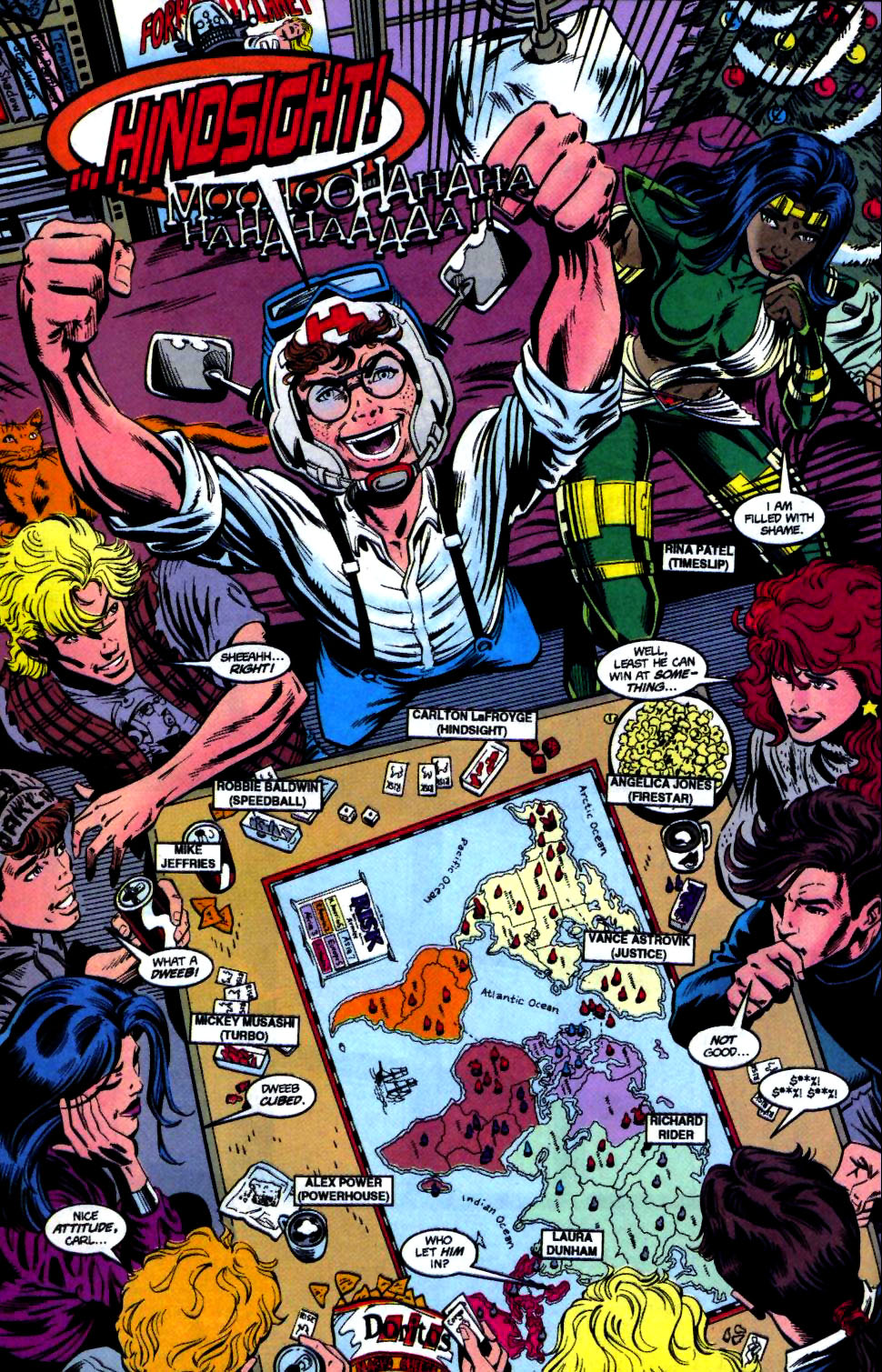 The New Warriors Issue #68 #72 - English 5