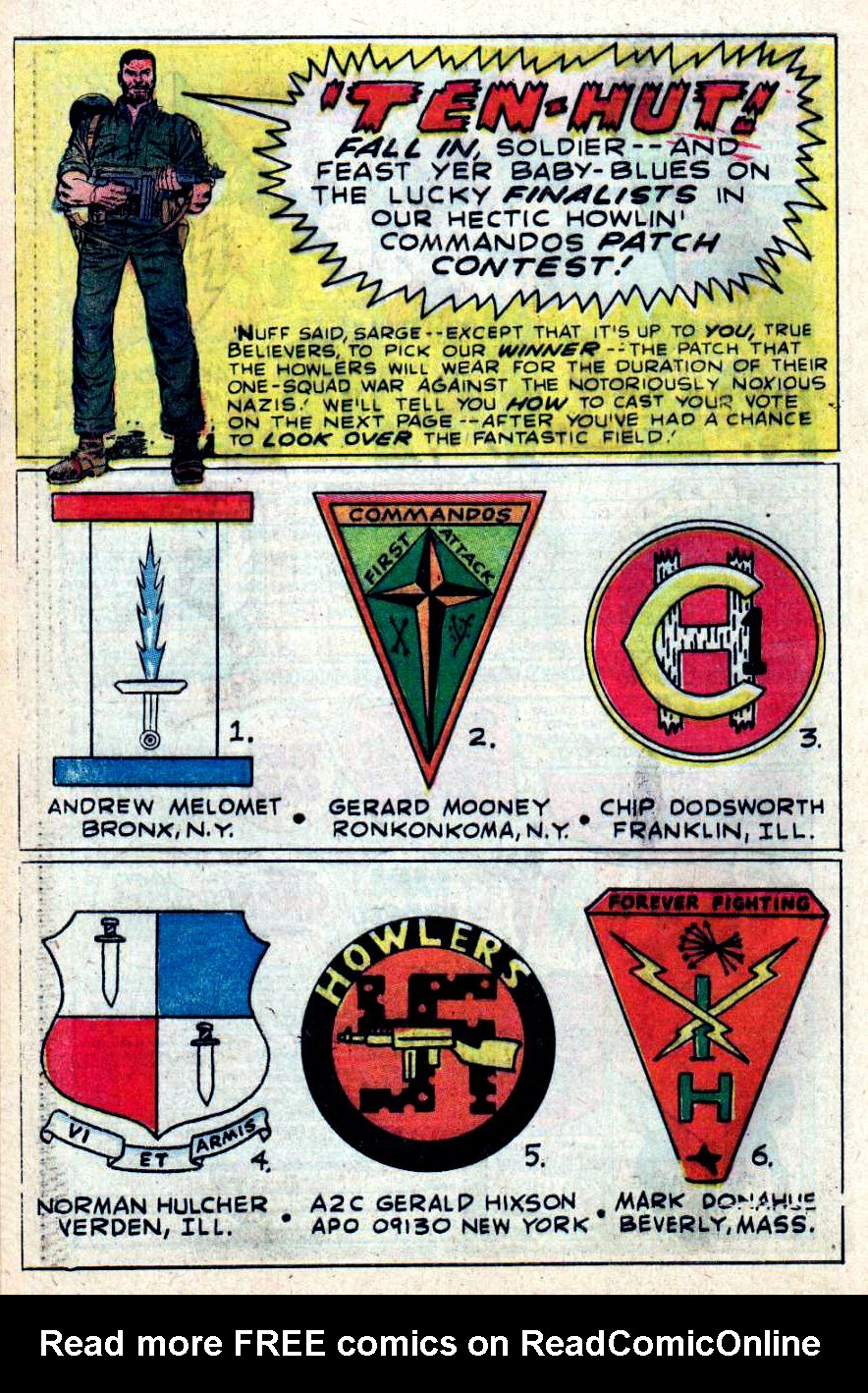 Read online Sgt. Fury comic -  Issue #43 - 32