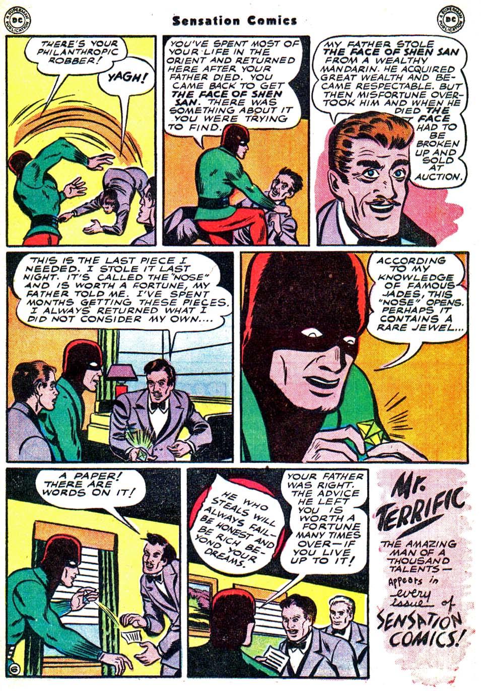 Read online Sensation (Mystery) Comics comic -  Issue #54 - 38