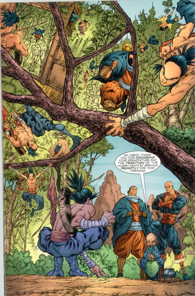 Read online Ninja Boy comic -  Issue #1 - 11
