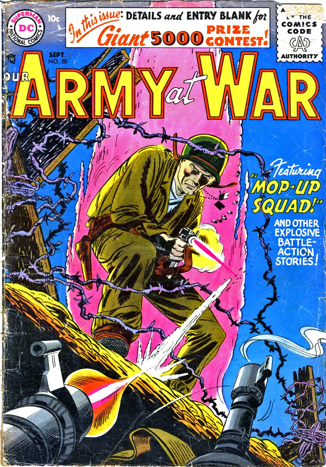 Our Army at War (1952) issue 50 - Page 1