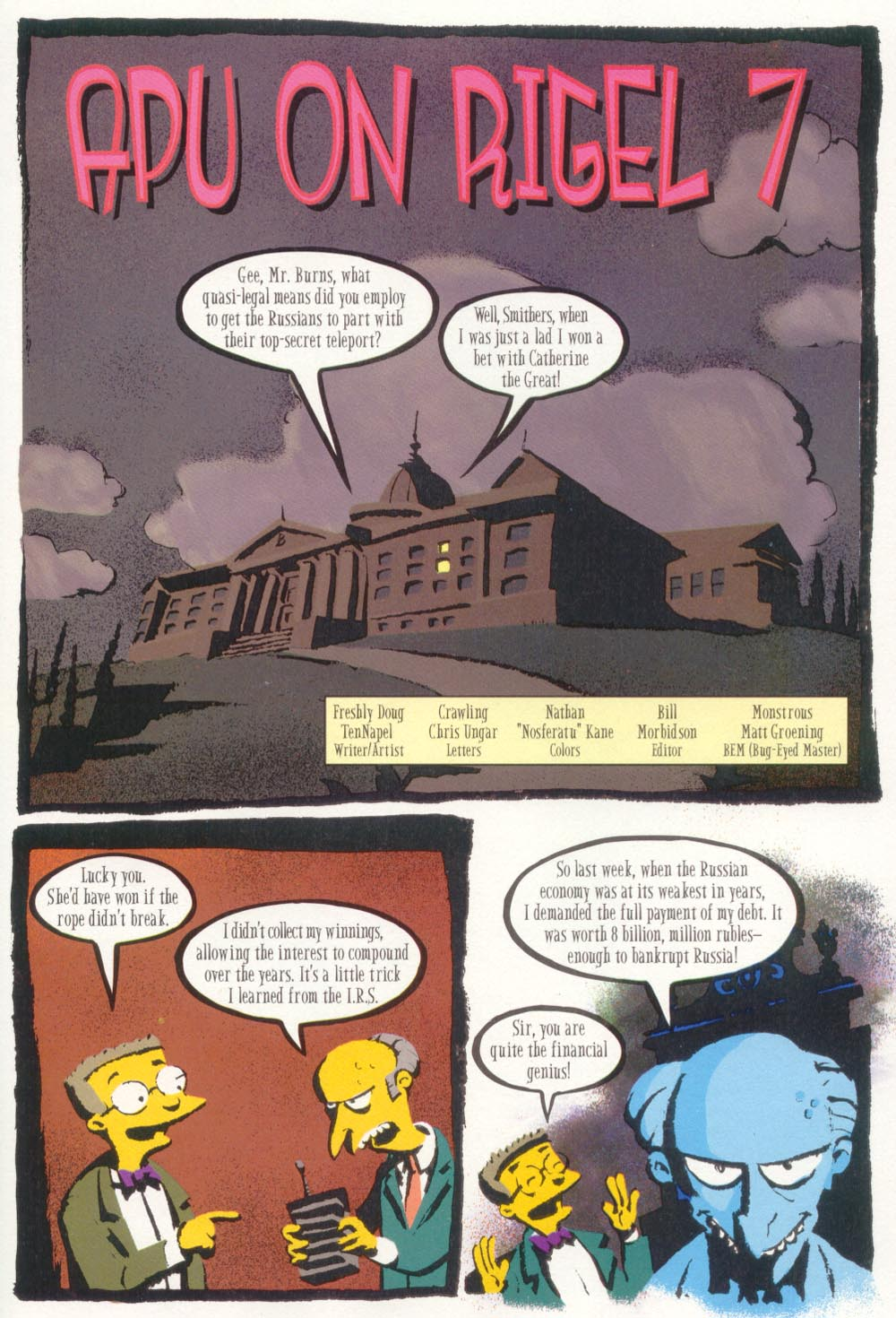 Read online Treehouse of Horror comic -  Issue #5 - 29