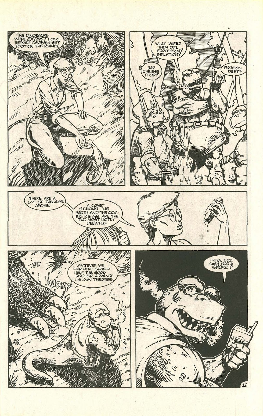 Dinosaurs For Hire (1988) issue 9 - Page 15