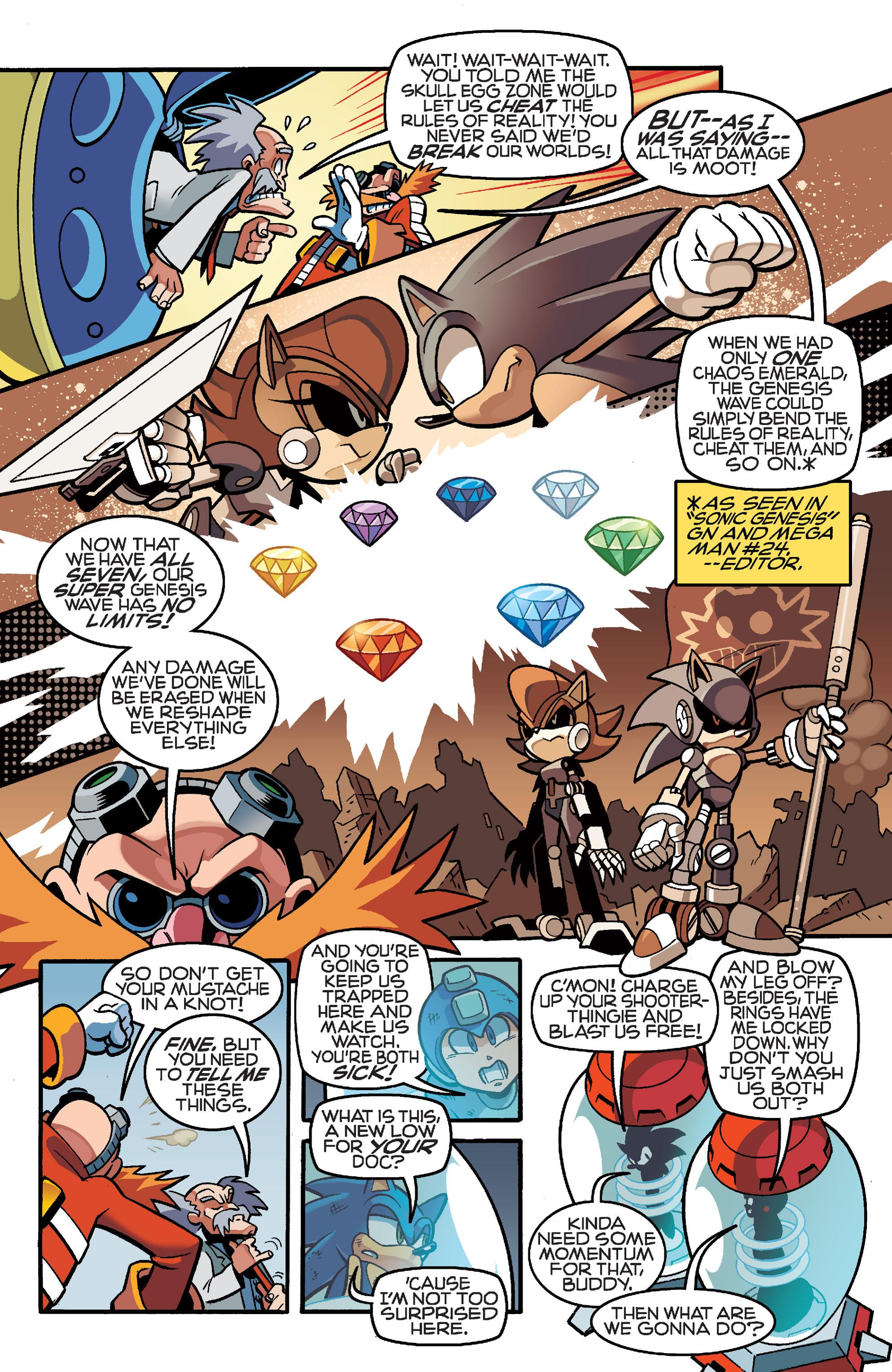 Read online Sonic Mega Man Worlds Collide comic -  Issue # Vol 3 - 101