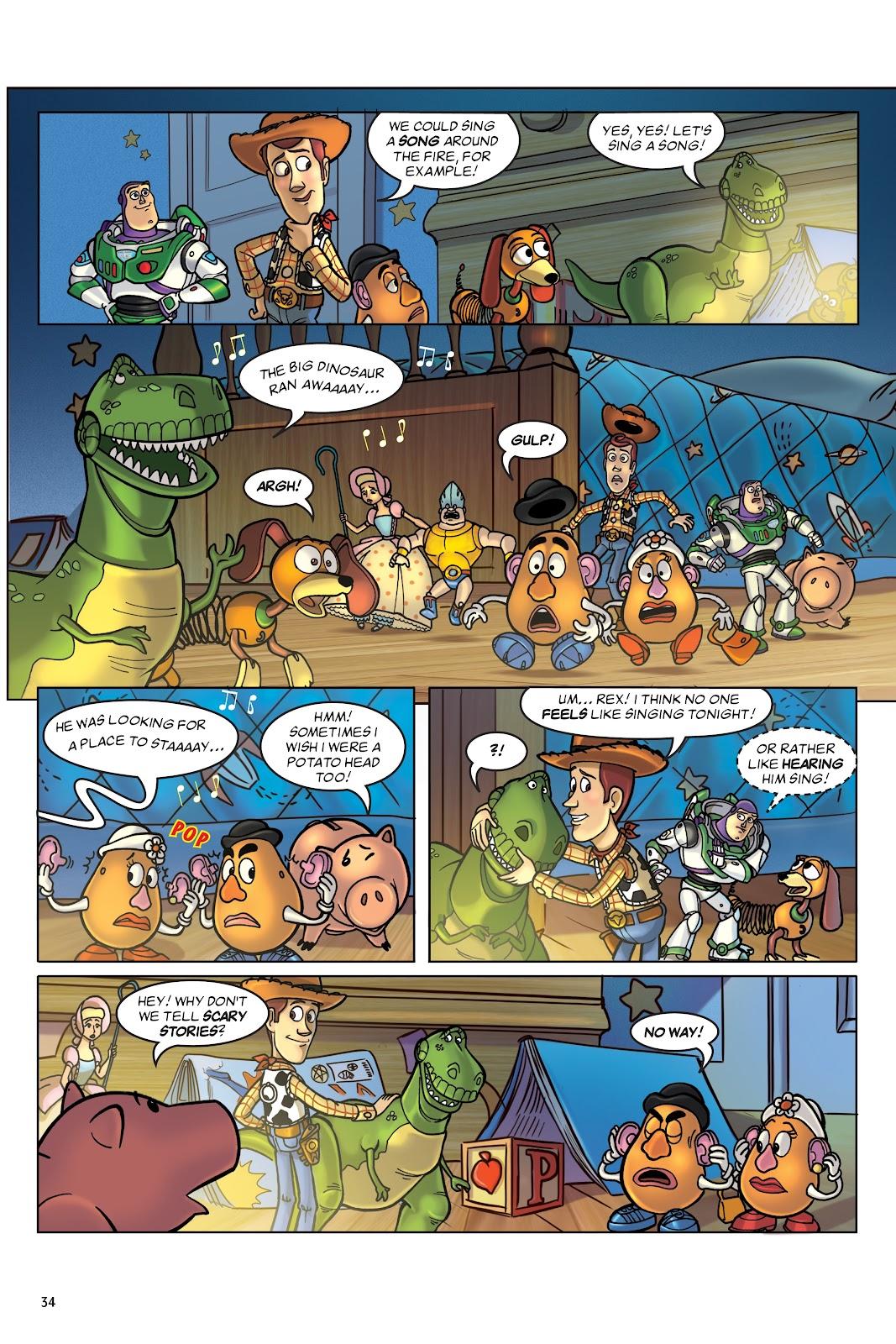 Read online DISNEY·PIXAR Toy Story Adventures comic -  Issue # TPB 1 (Part 1) - 34
