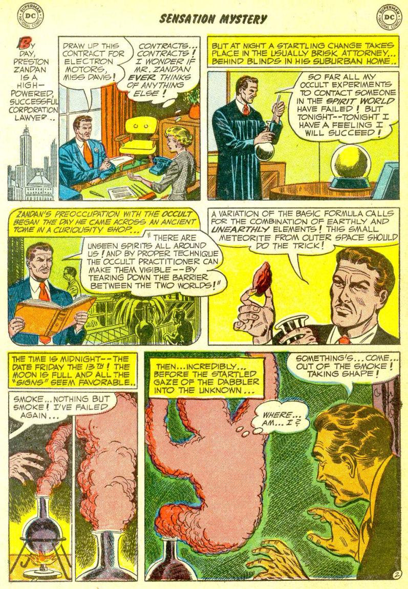 Read online Sensation (Mystery) Comics comic -  Issue #111 - 4