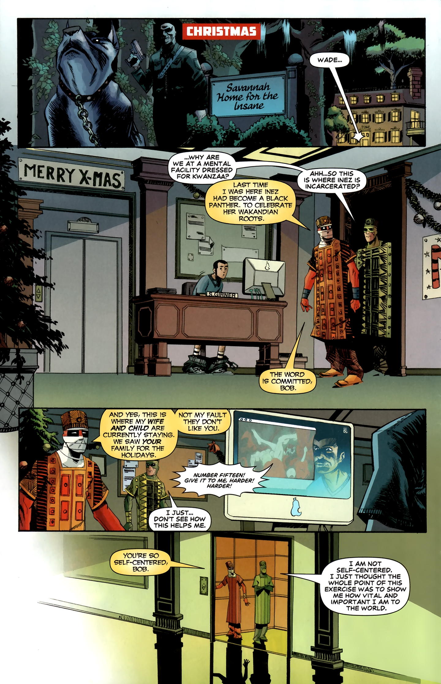 Read online Deadpool MAX X-Mas Special comic -  Issue # Full - 25