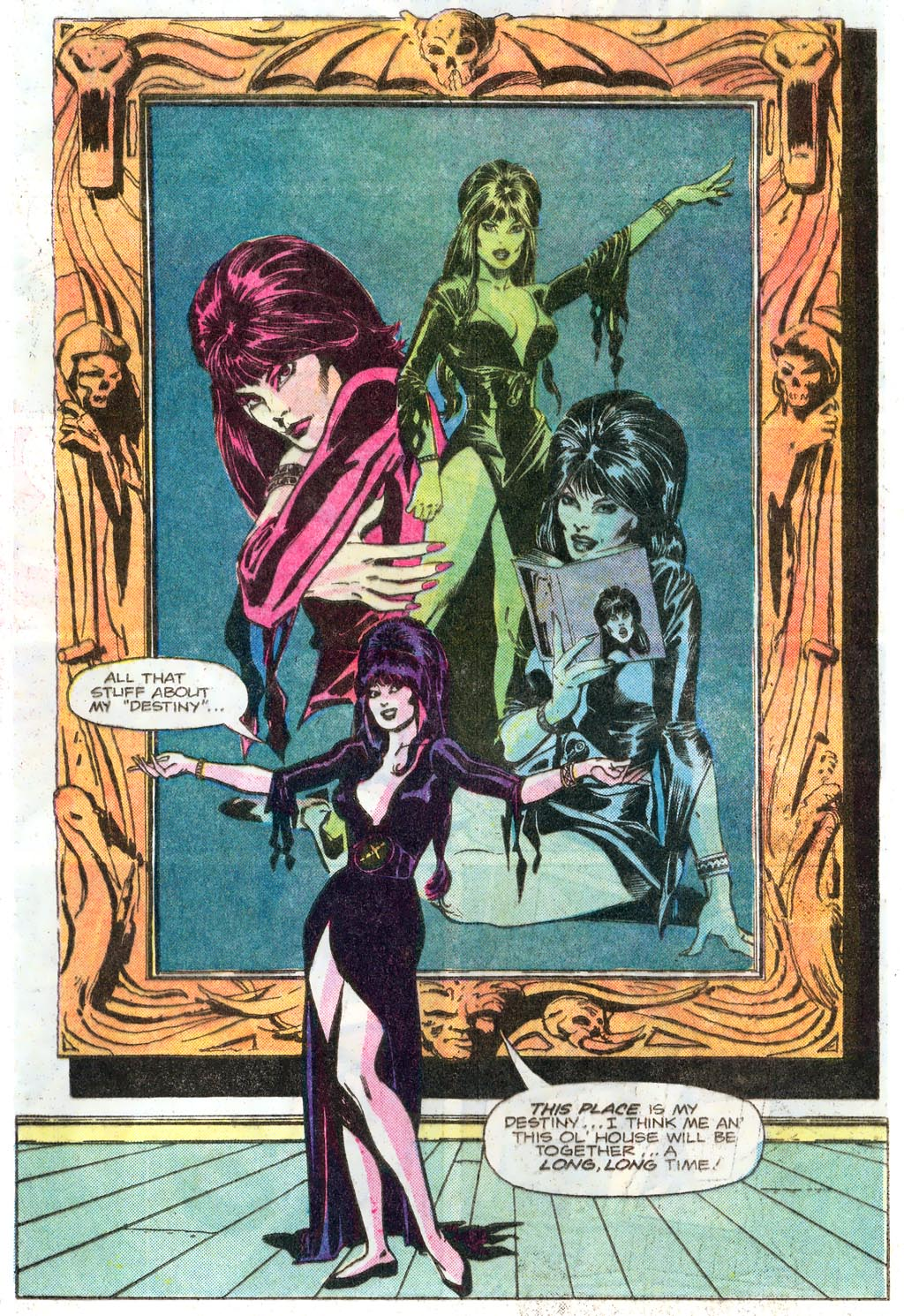 Elvira's House of Mystery Issue #1 #2 - English 62
