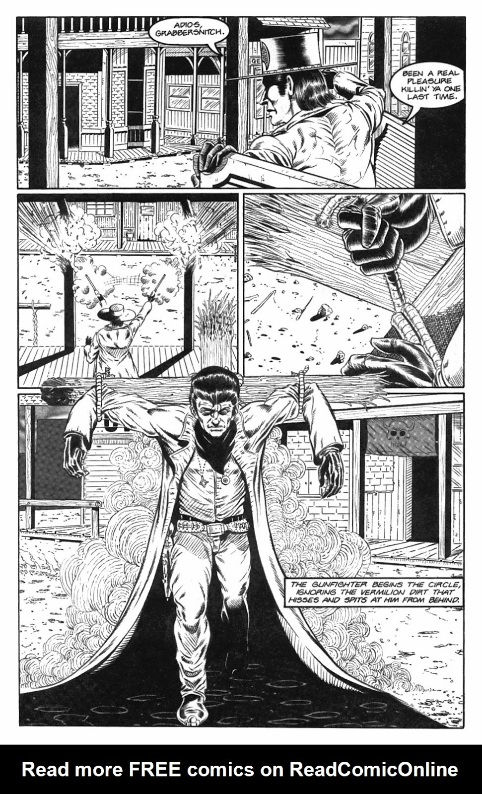 Read online Gunfighters in Hell comic -  Issue #2 - 12