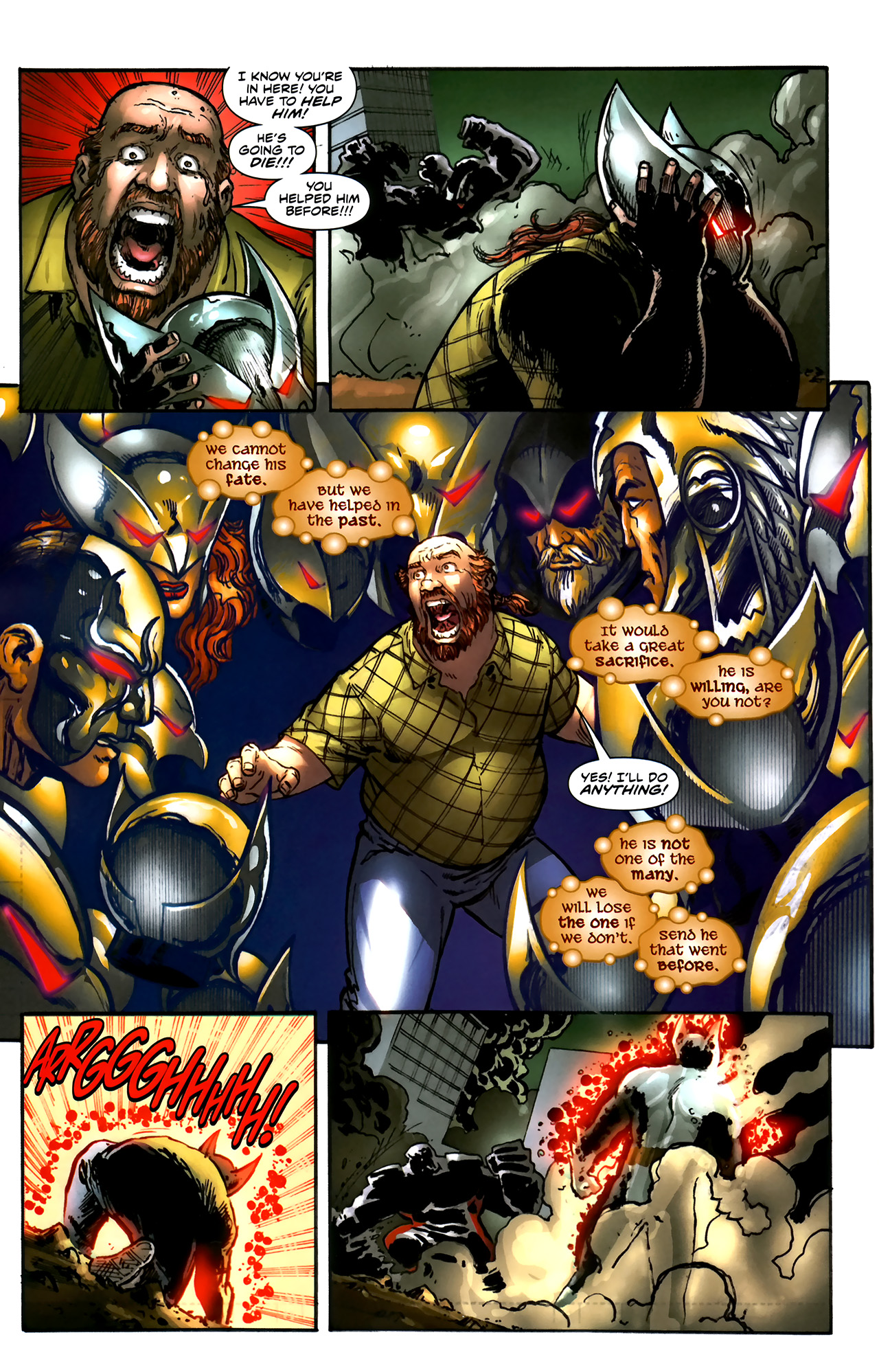 Read online ShadowHawk (2010) comic -  Issue #5 - 19