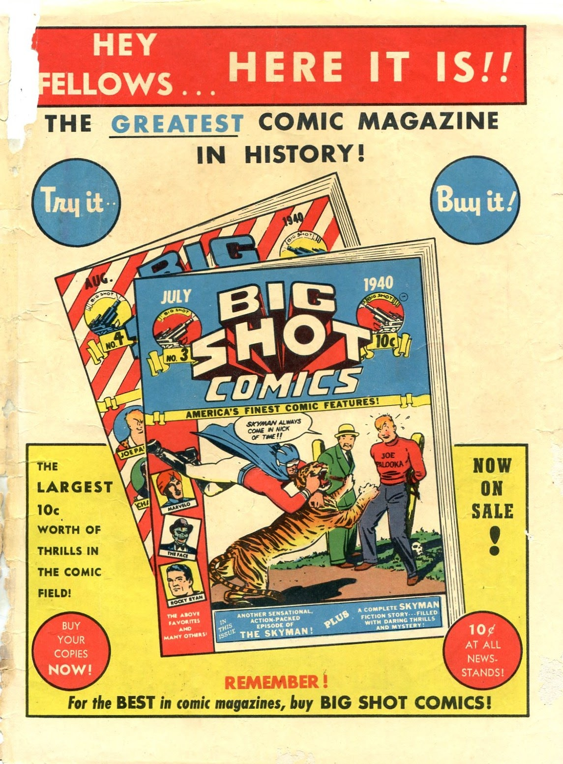 Read online Famous Funnies comic -  Issue #72 - 67