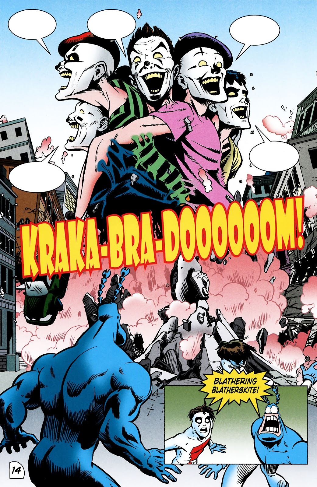 Read online The Tick comic -  Issue #101 - 17