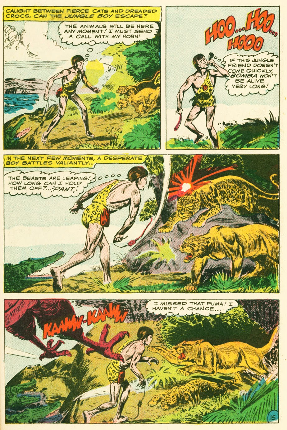 Bomba, The Jungle Boy issue 1 - Page 21