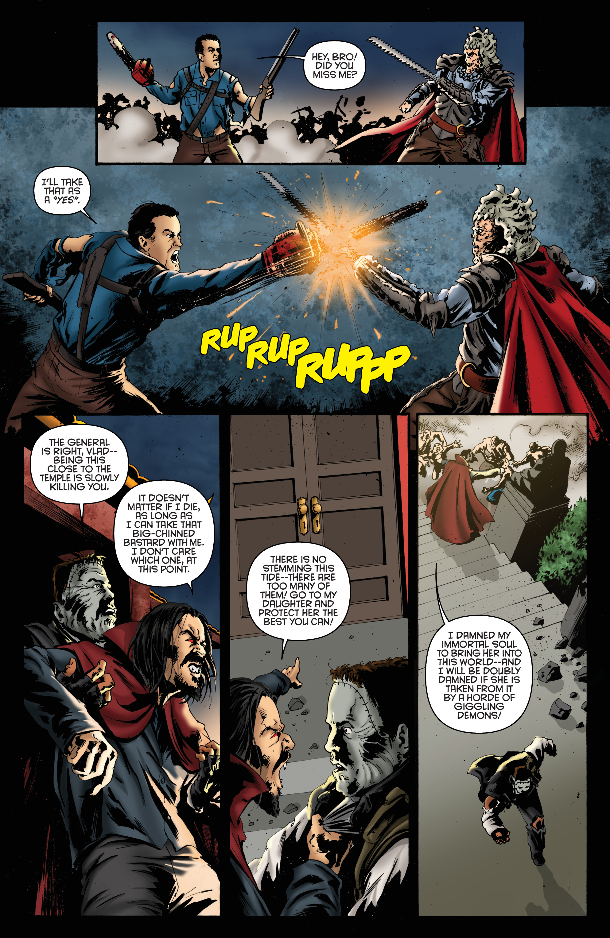 Read online Army of Darkness: Furious Road comic -  Issue #6 - 15