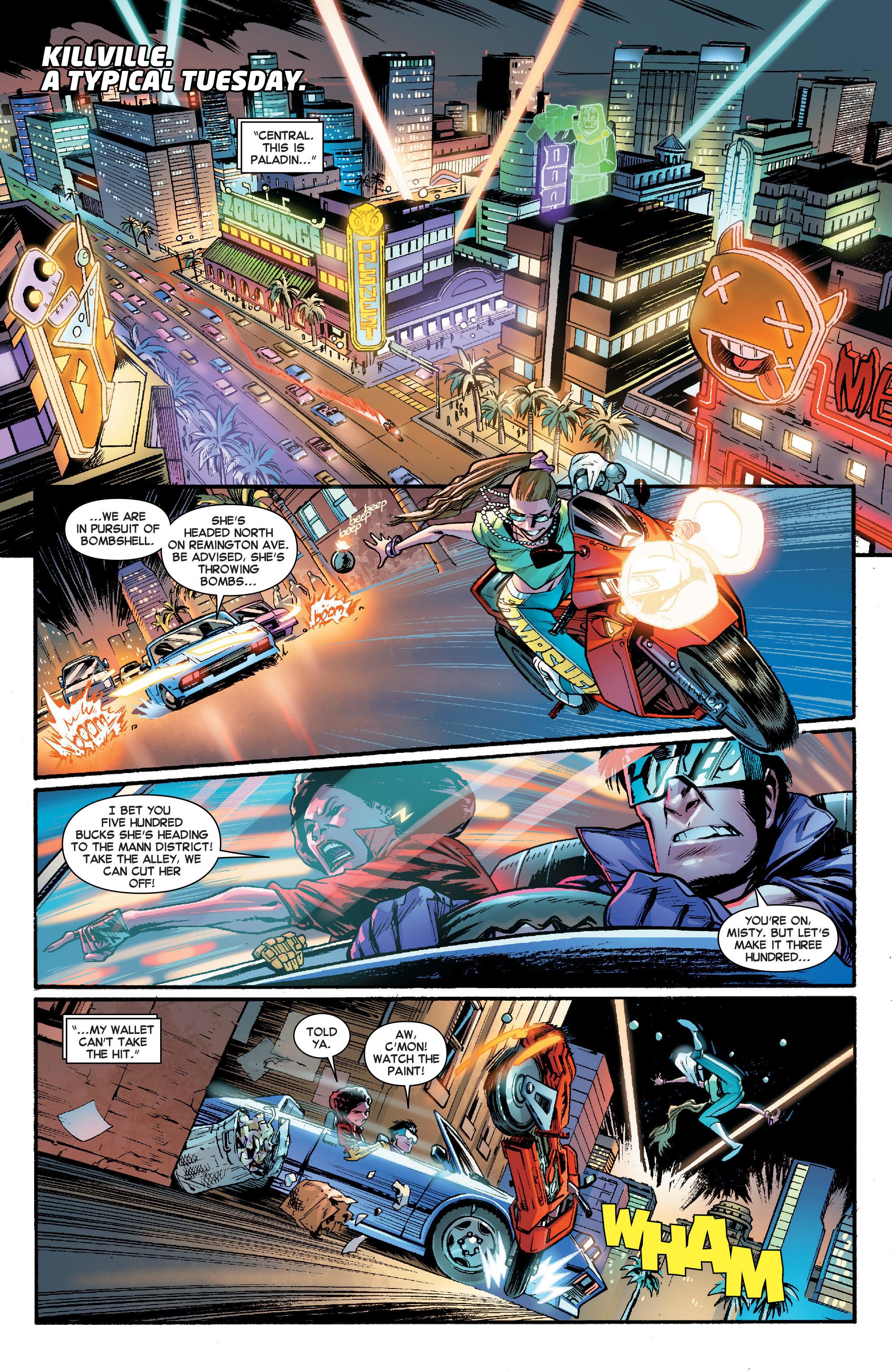 Read online Secret Wars Journal comic -  Issue #2 - 3