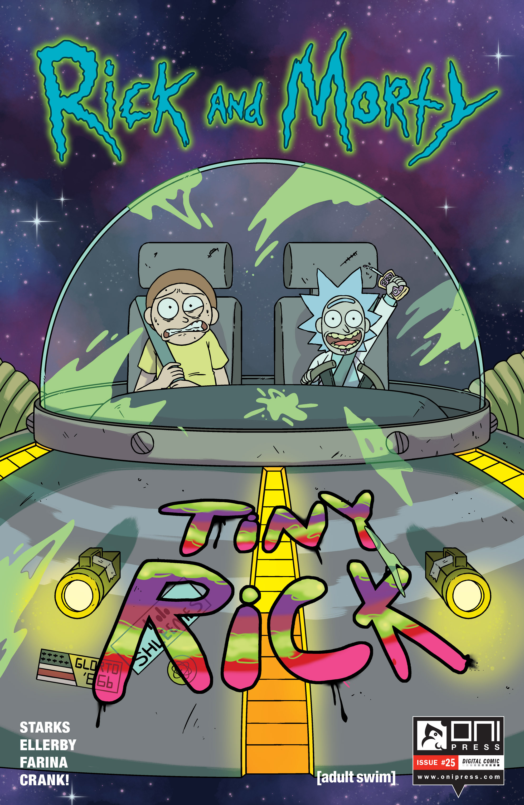 Read online Rick and Morty comic -  Issue #25 - 1