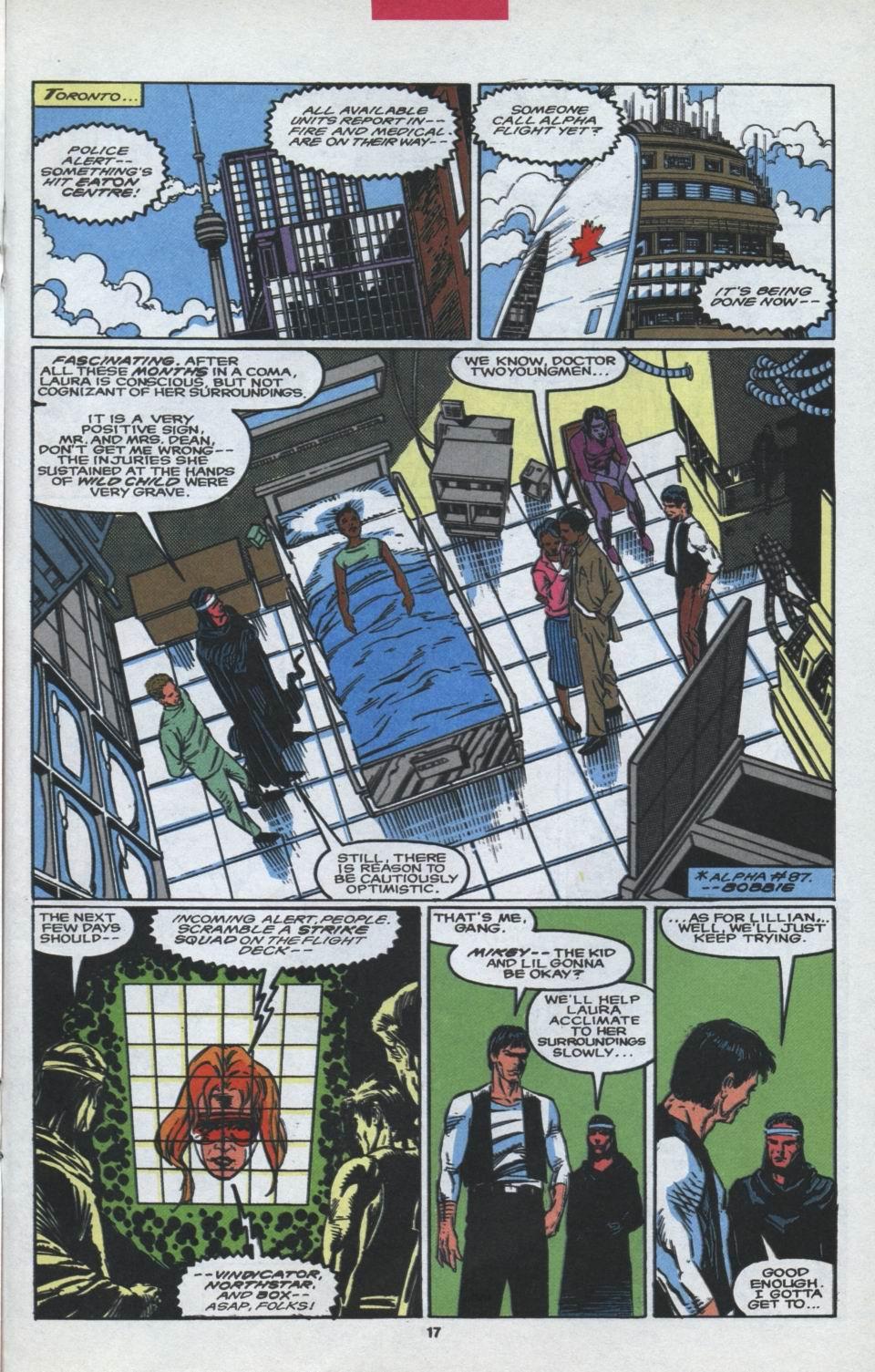 Read online Alpha Flight (1983) comic -  Issue #97 - 14