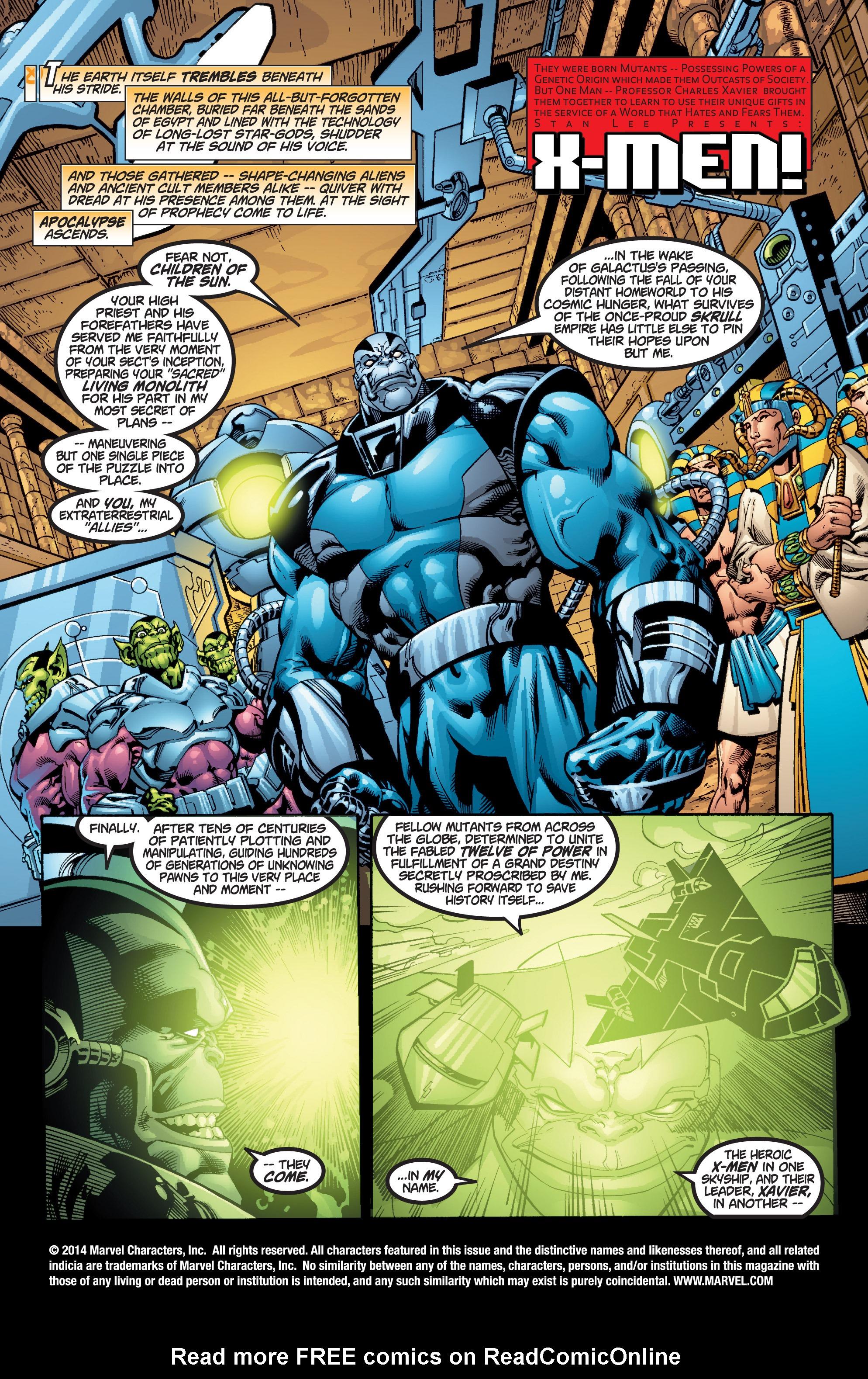 Read online Uncanny X-Men (1963) comic -  Issue #377 - 2