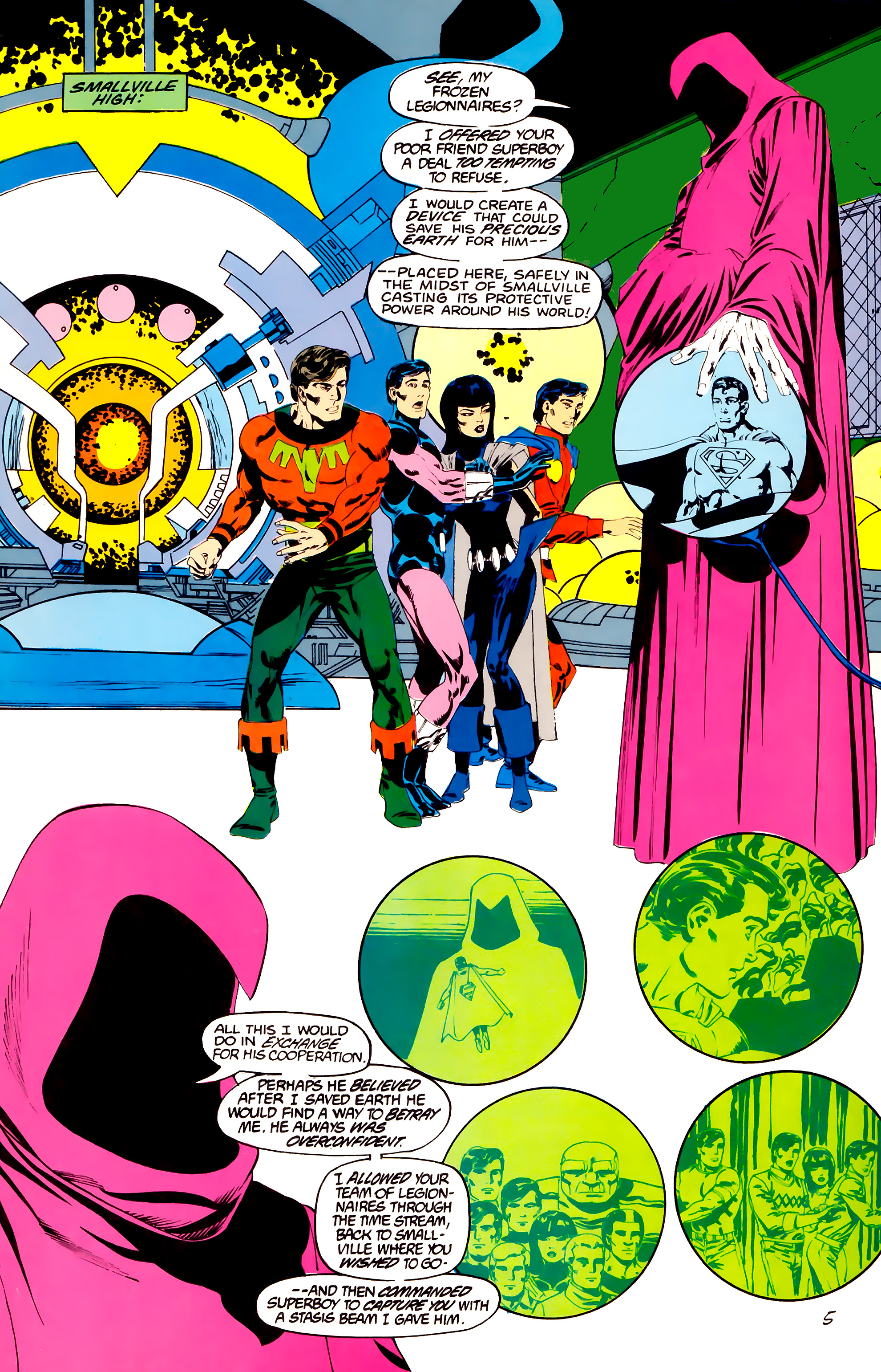 Legion of Super-Heroes (1984) 38 Page 5