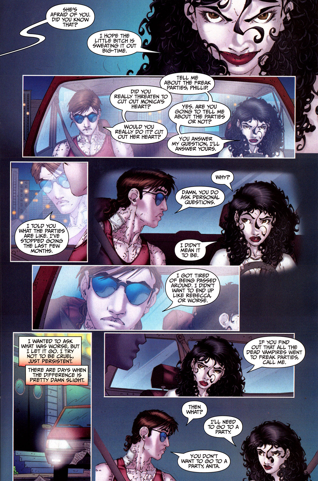 Read online Anita Blake, Vampire Hunter: Guilty Pleasures comic -  Issue #5 - 21