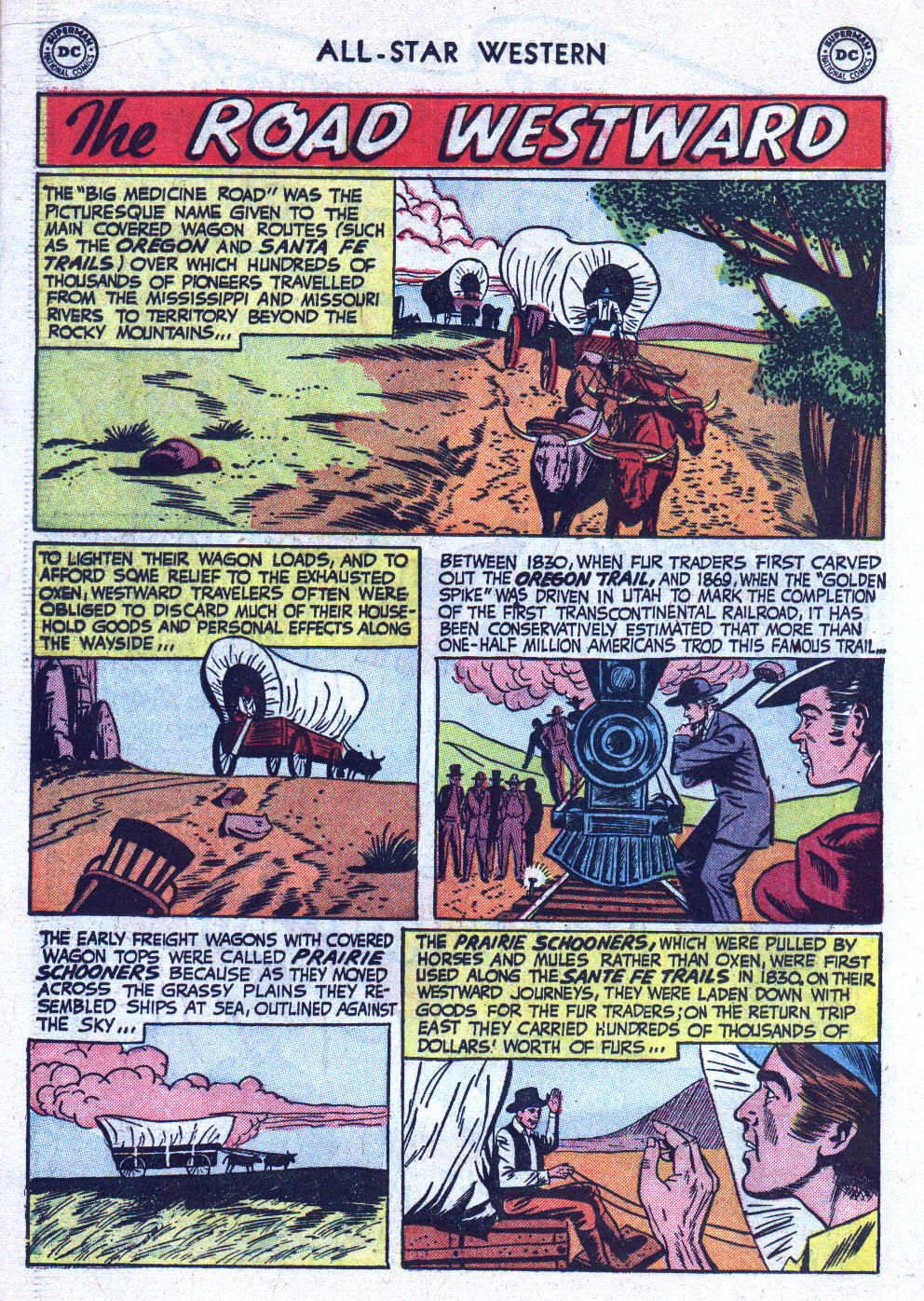 Read online All-Star Western (1951) comic -  Issue #76 - 18