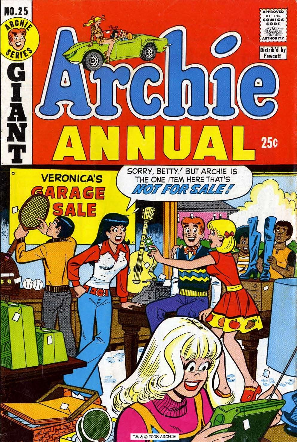 Archie Annual issue 25 - Page 1