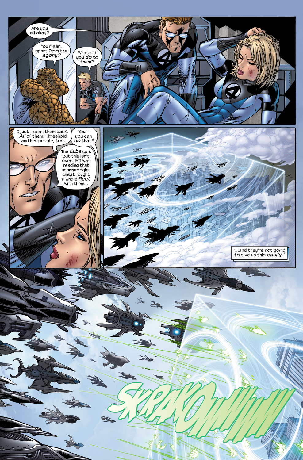 Read online Ultimate Fantastic Four (2004) comic -  Issue #50 - 20