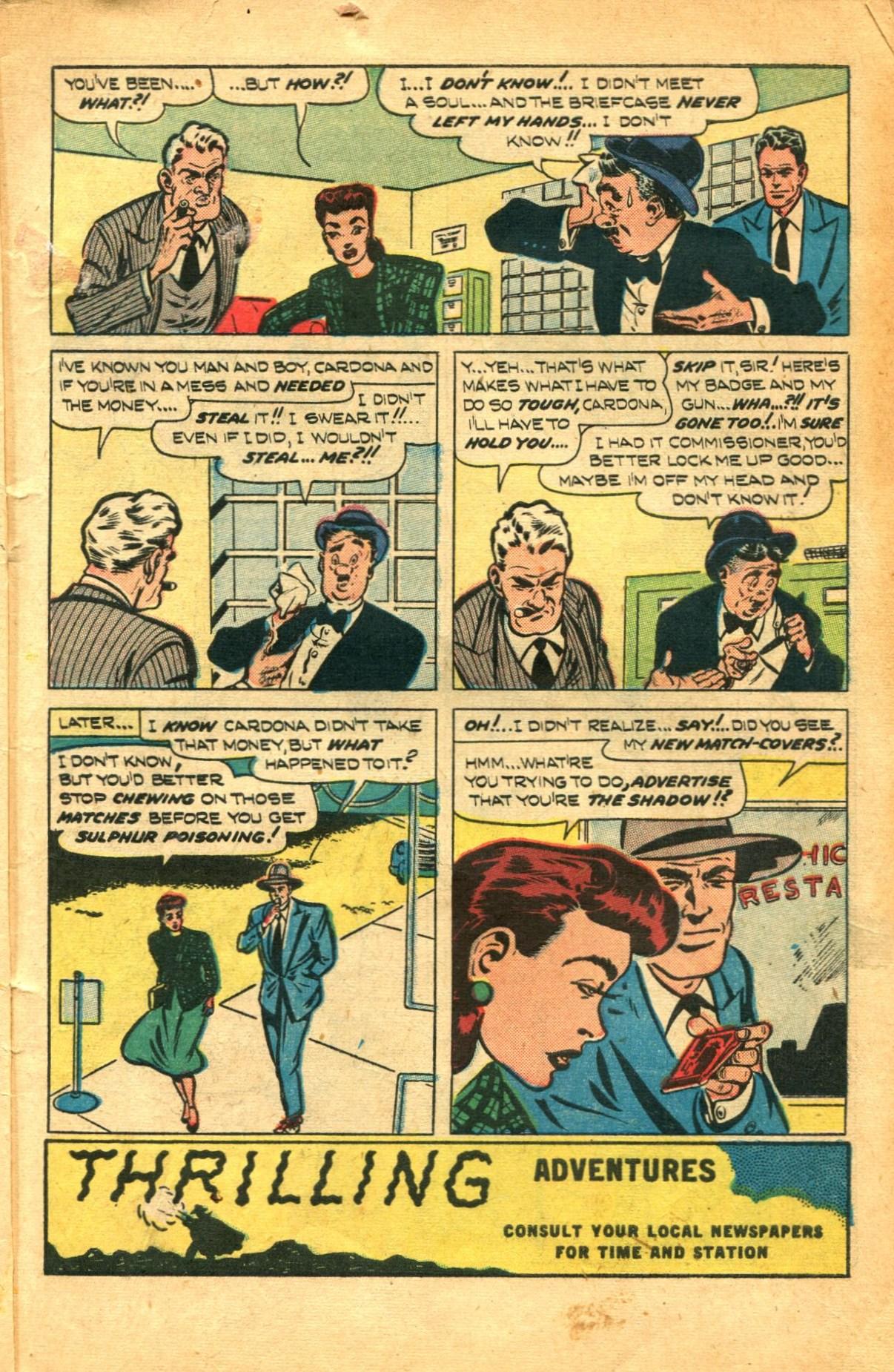 Read online Shadow Comics comic -  Issue #91 - 5