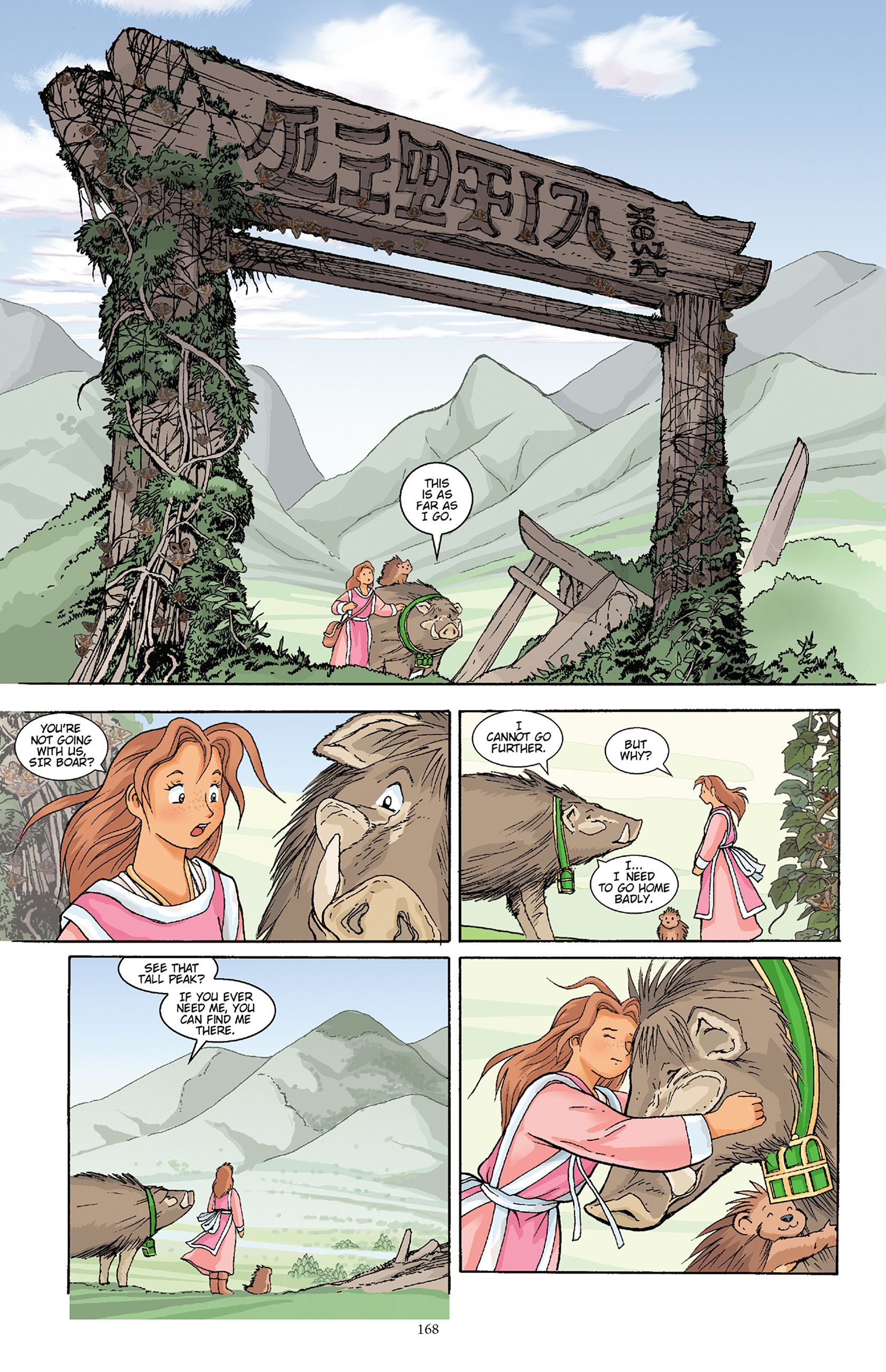 Read online Courageous Princess comic -  Issue # TPB 1 - 167
