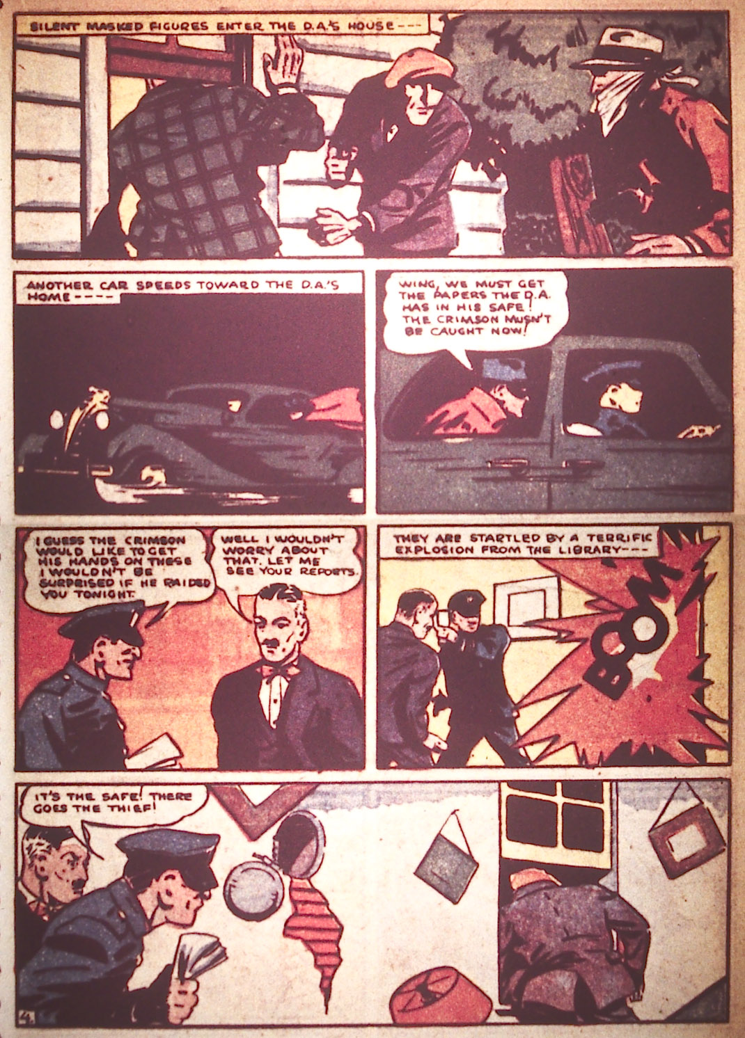 Read online Detective Comics (1937) comic -  Issue #22 - 25