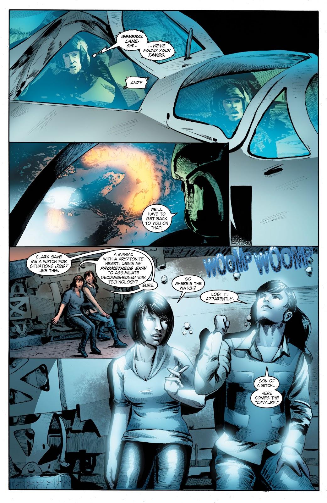 Read online Smallville Season 11 [II] comic -  Issue # TPB 4 - 133