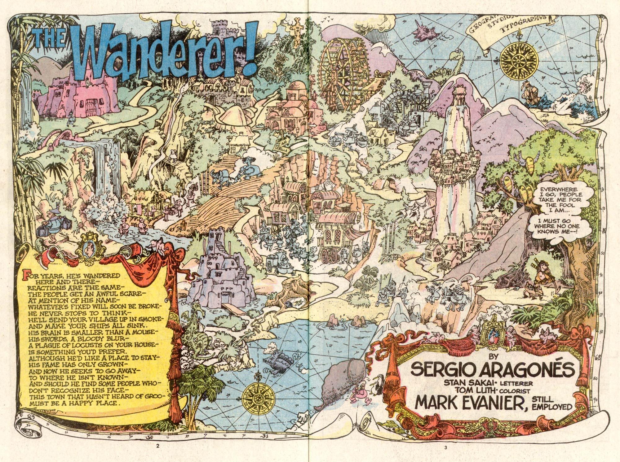 Read online Sergio Aragonés Groo the Wanderer comic -  Issue #48 - 3