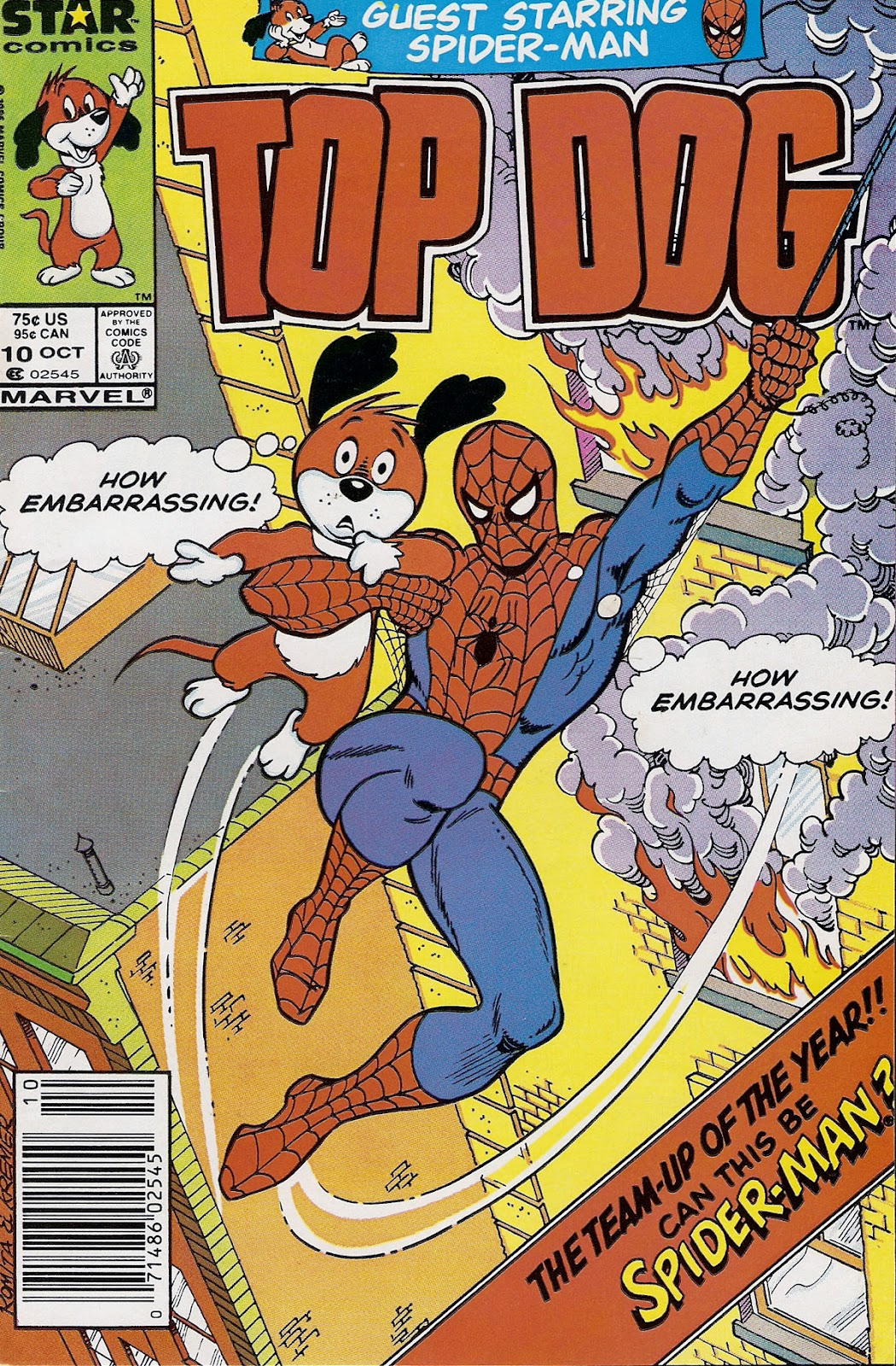 Top Dog 10 Page 1