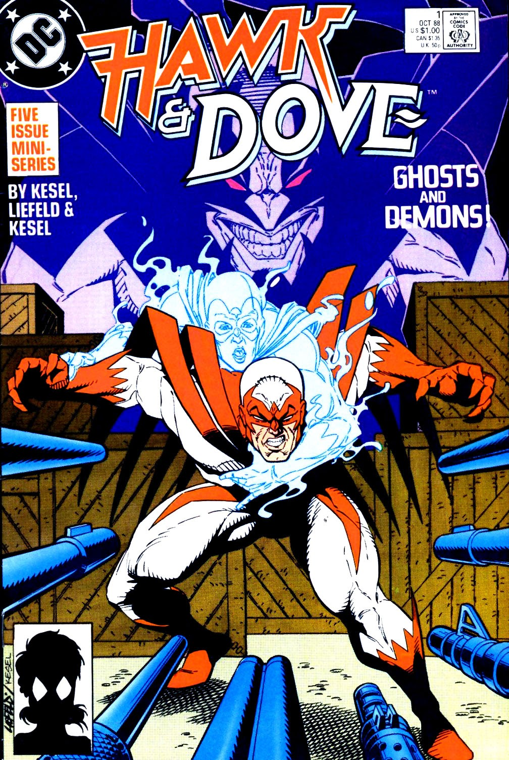 Hawk and Dove (1988) 1 Page 1
