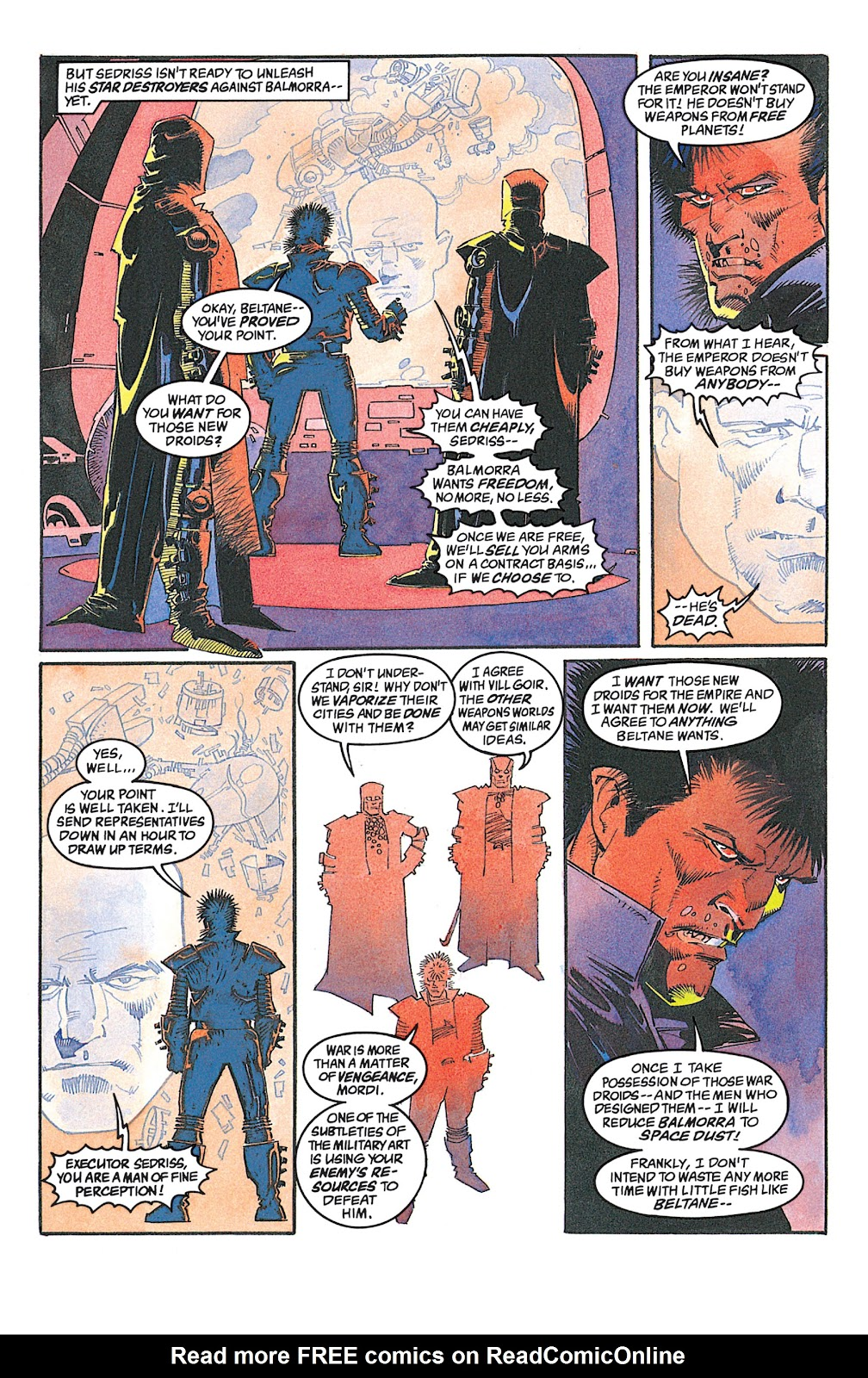 Read online Star Wars: Dark Empire Trilogy comic -  Issue # TPB (Part 2) - 66