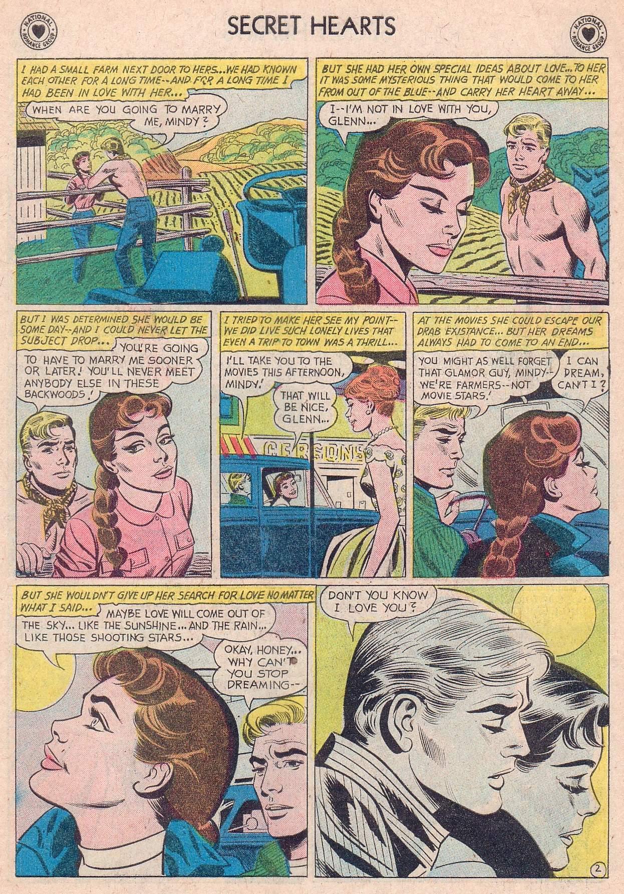 Read online Secret Hearts comic -  Issue #67 - 19