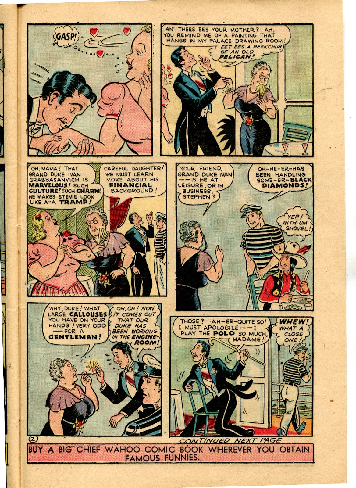 Read online Famous Funnies comic -  Issue #116 - 45