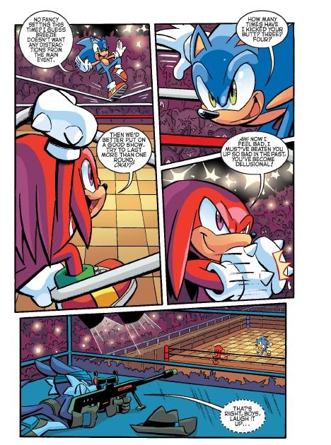 Read online Sonic Comics Spectacular: Speed of Sound comic -  Issue # Full - 56