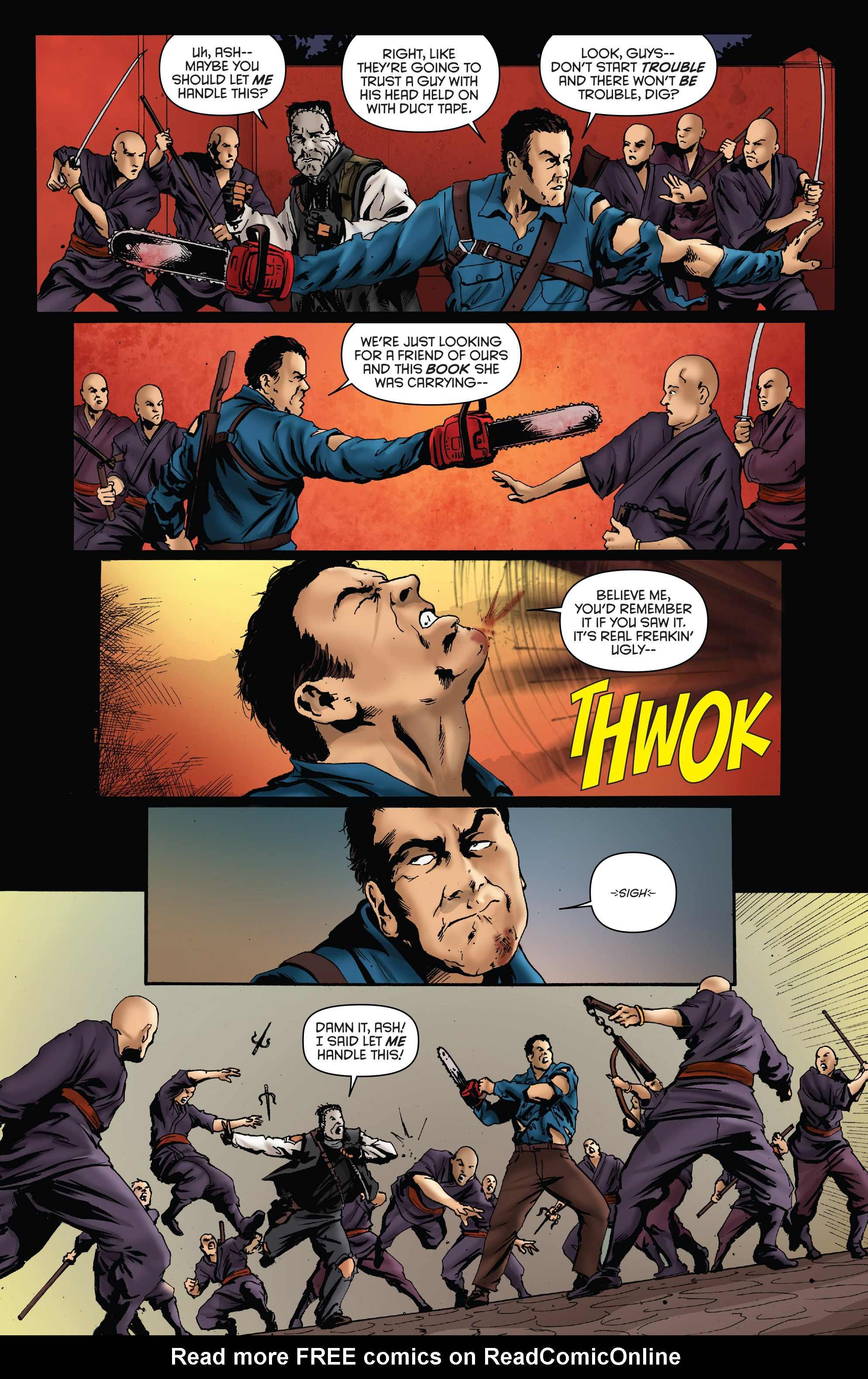 Read online Army of Darkness: Furious Road comic -  Issue #5 - 19